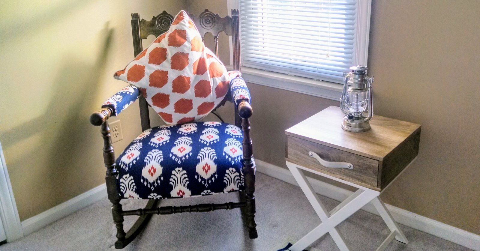 baby boy bedroom rocking chair