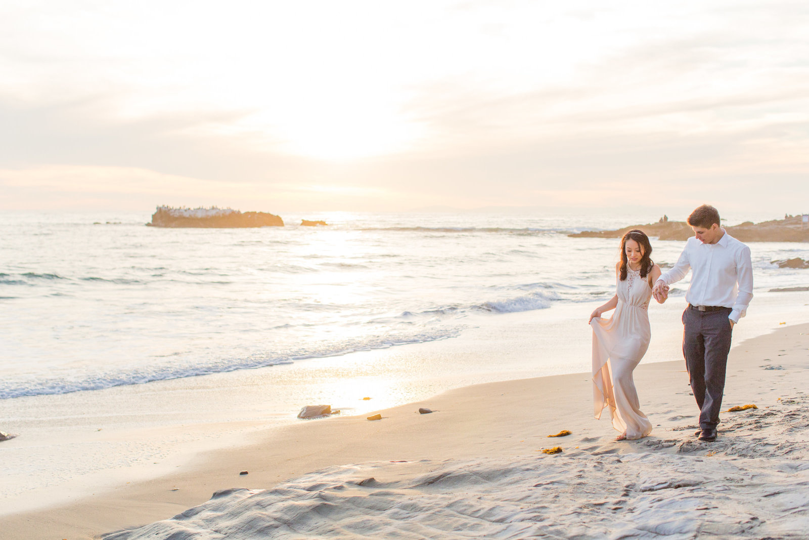 Laguna Beach Bride and Groom photography