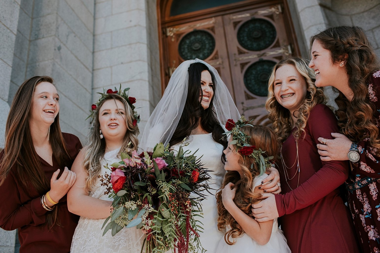Utah Wedding Photographer Kamille Bauer Cody Calderwood Salt Lake Temple Salt Lake Hardware Building_0286
