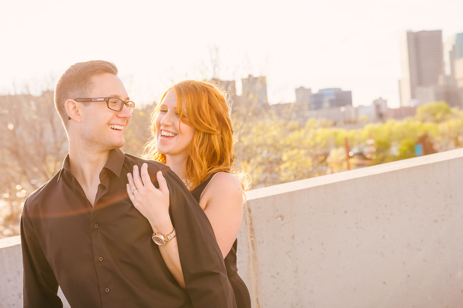 engagement-at-the-forks-sky-line