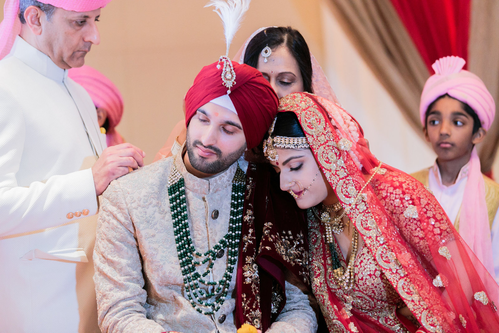 Indian Couple ceremony