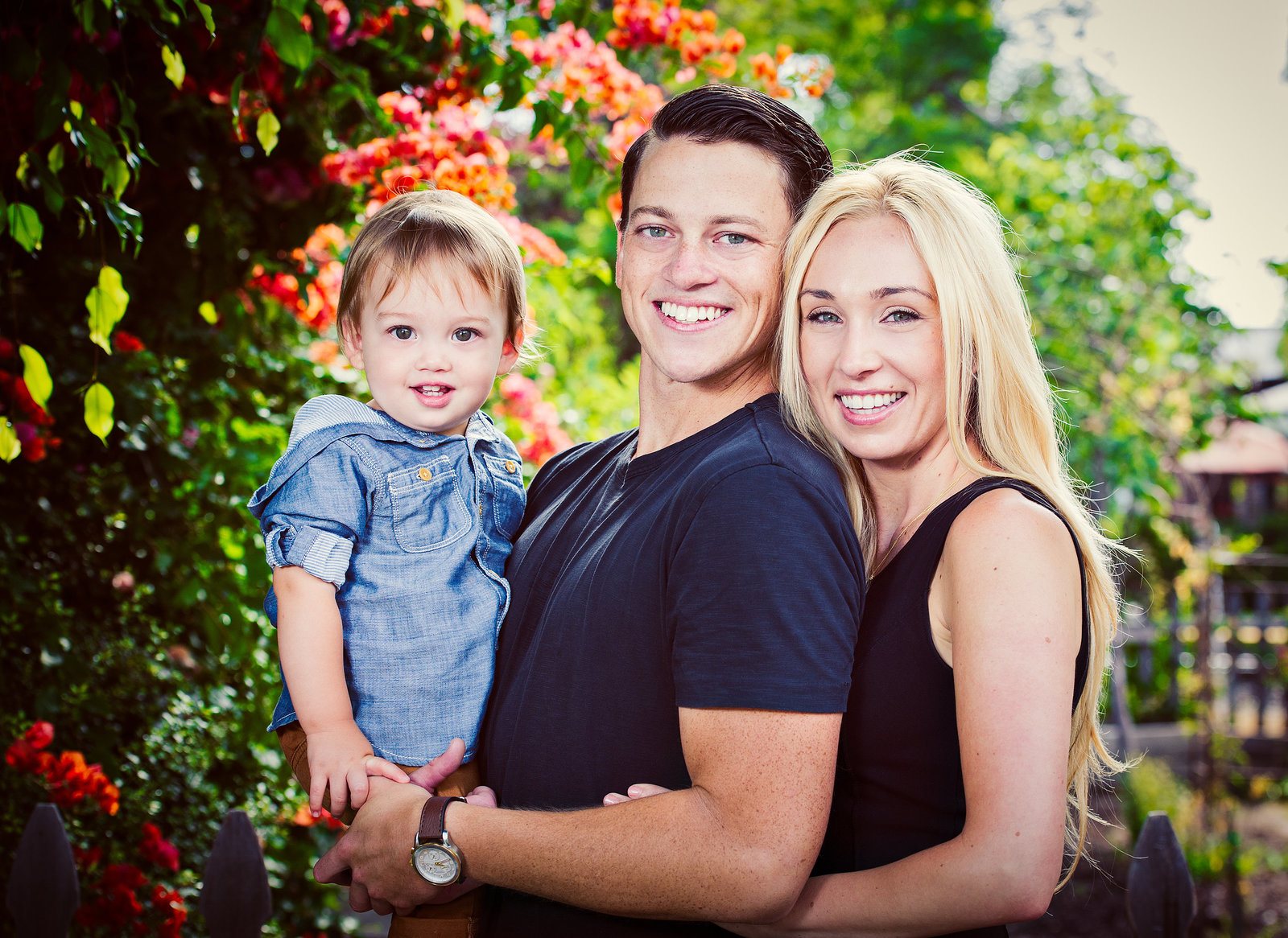 Family photography in downtown San Juan Capistrano by inGRACE photography