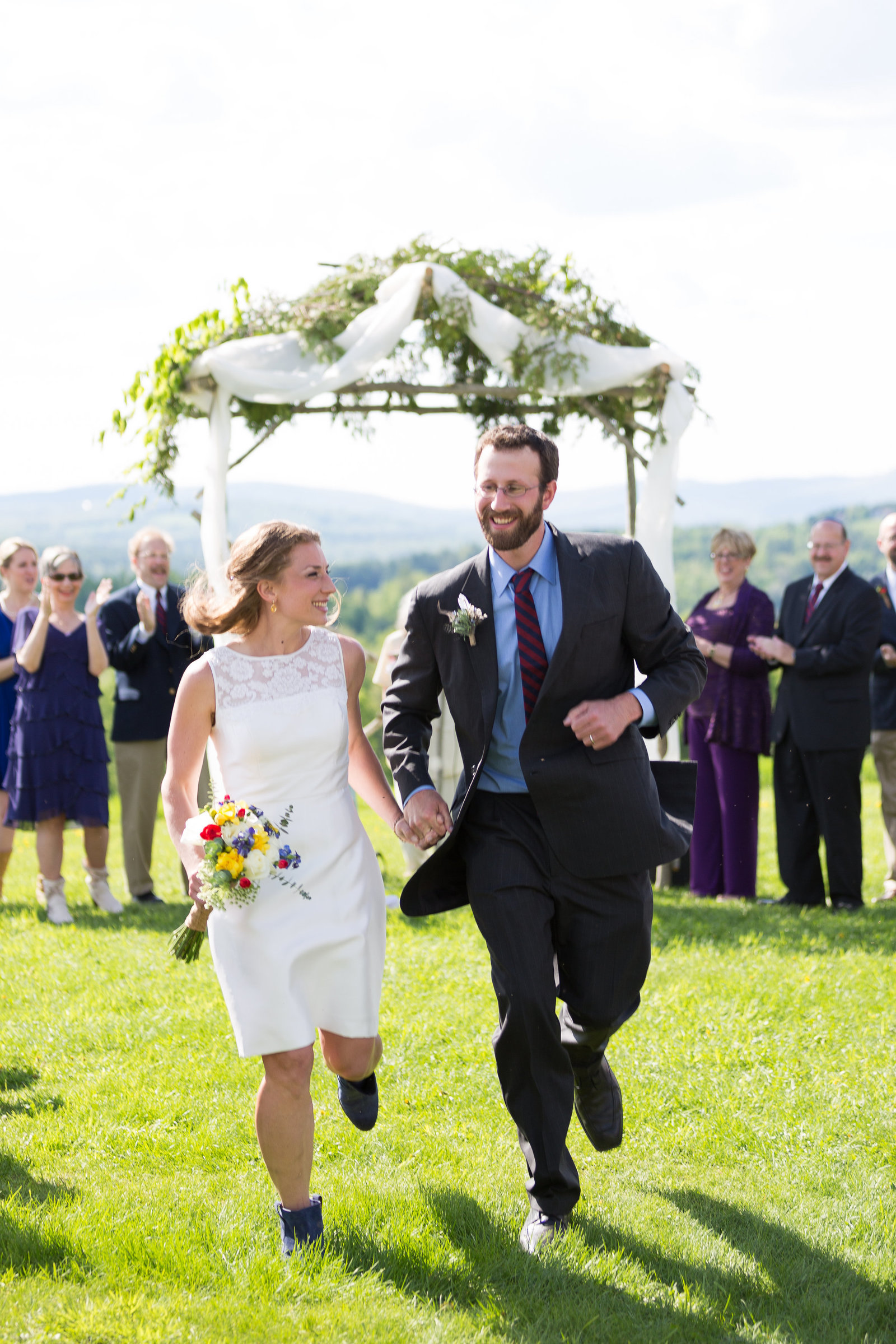 Vermont Jewish Wedding Ceremony