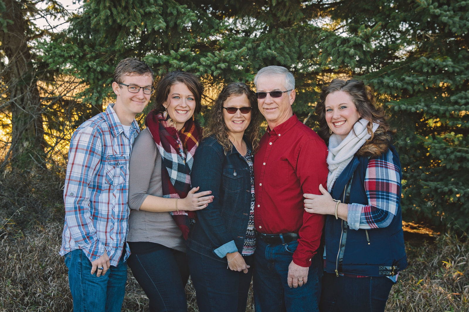 family | elizabeth street photography | fall | Fredonia, ND