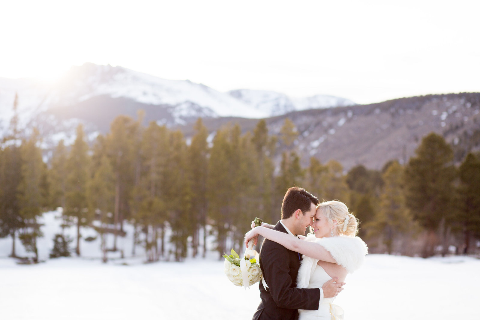 Rocky Mountain National Park Sprague Lake Wedding