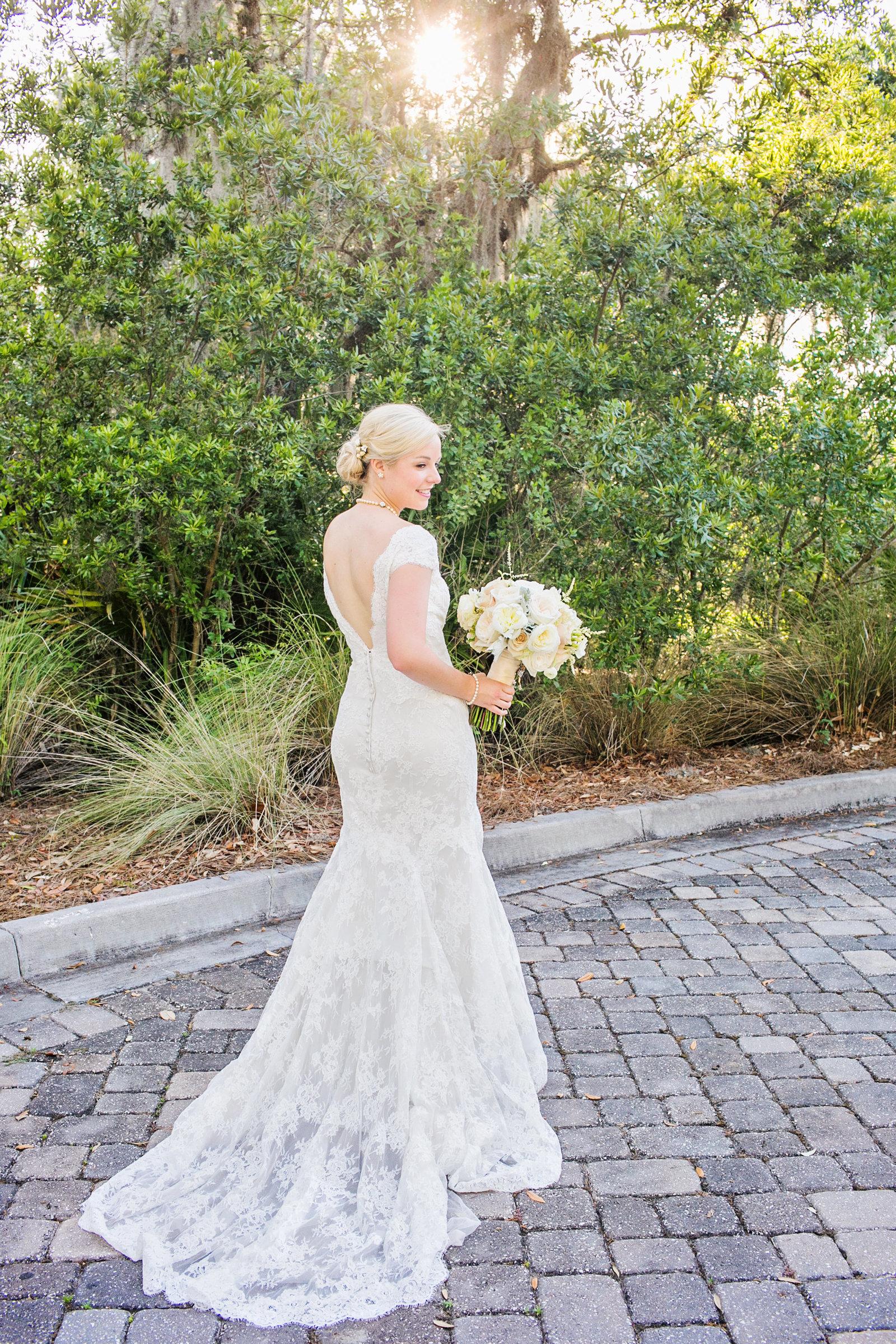 Bridal portraits Amelia Island Florida