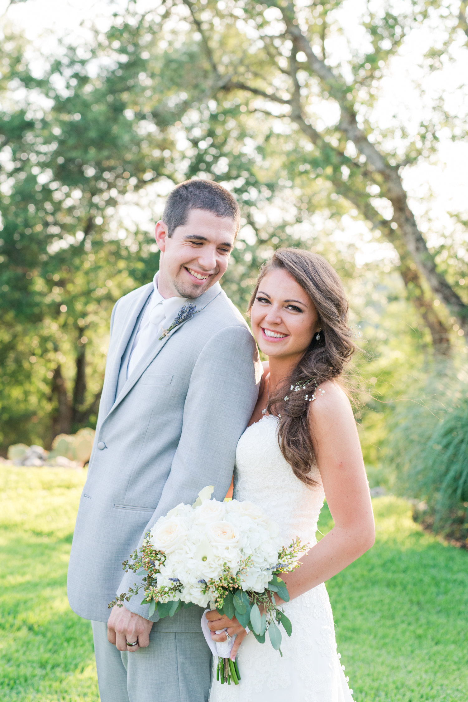 Traditional wedding at The springs in Georgetown, Texas