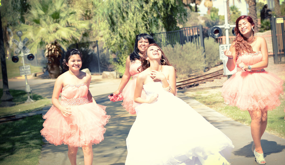 Quinceañera Fun with my girls