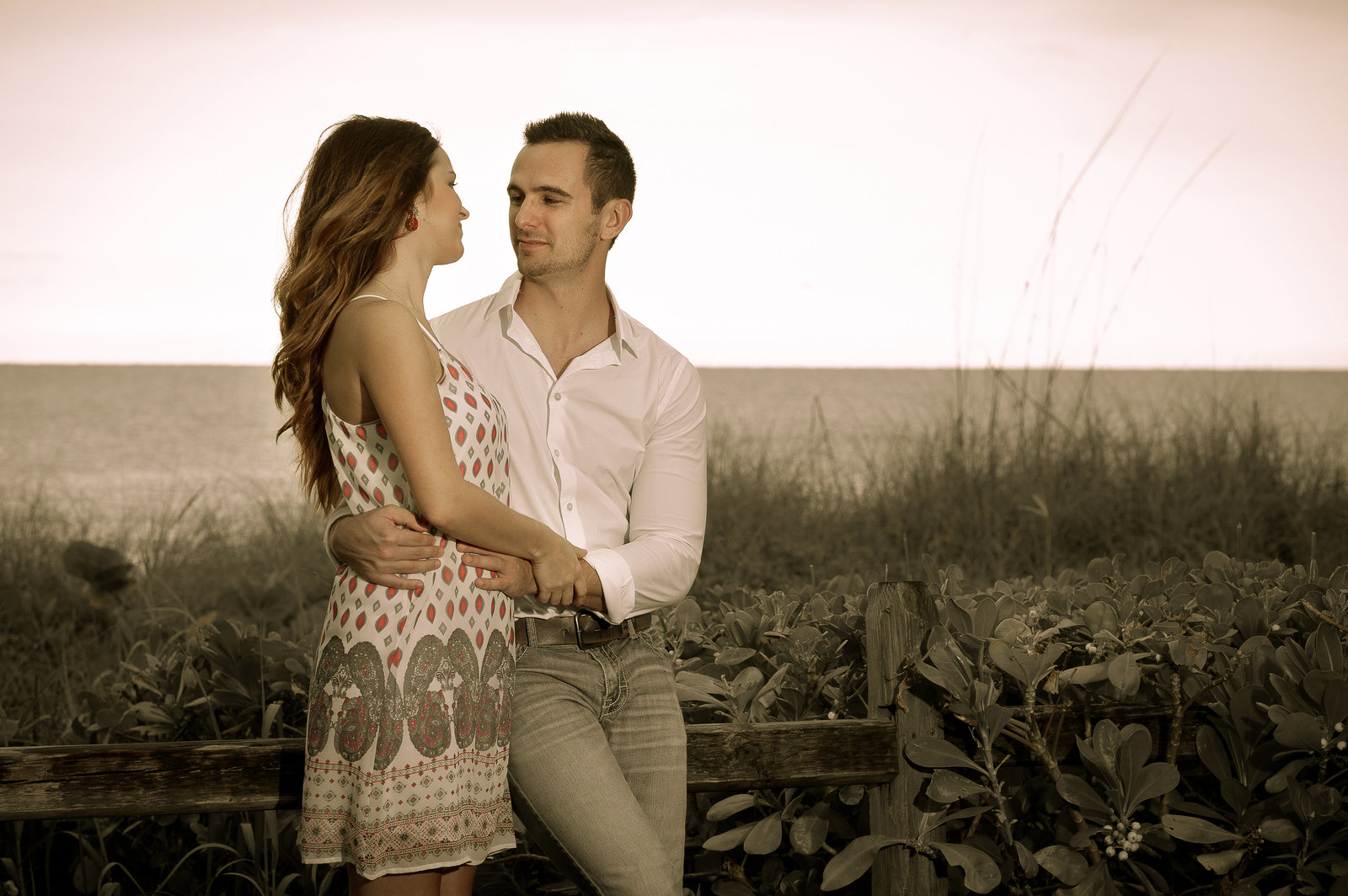 Reel Treasures Productions Engagement Shoot in Naples FL.