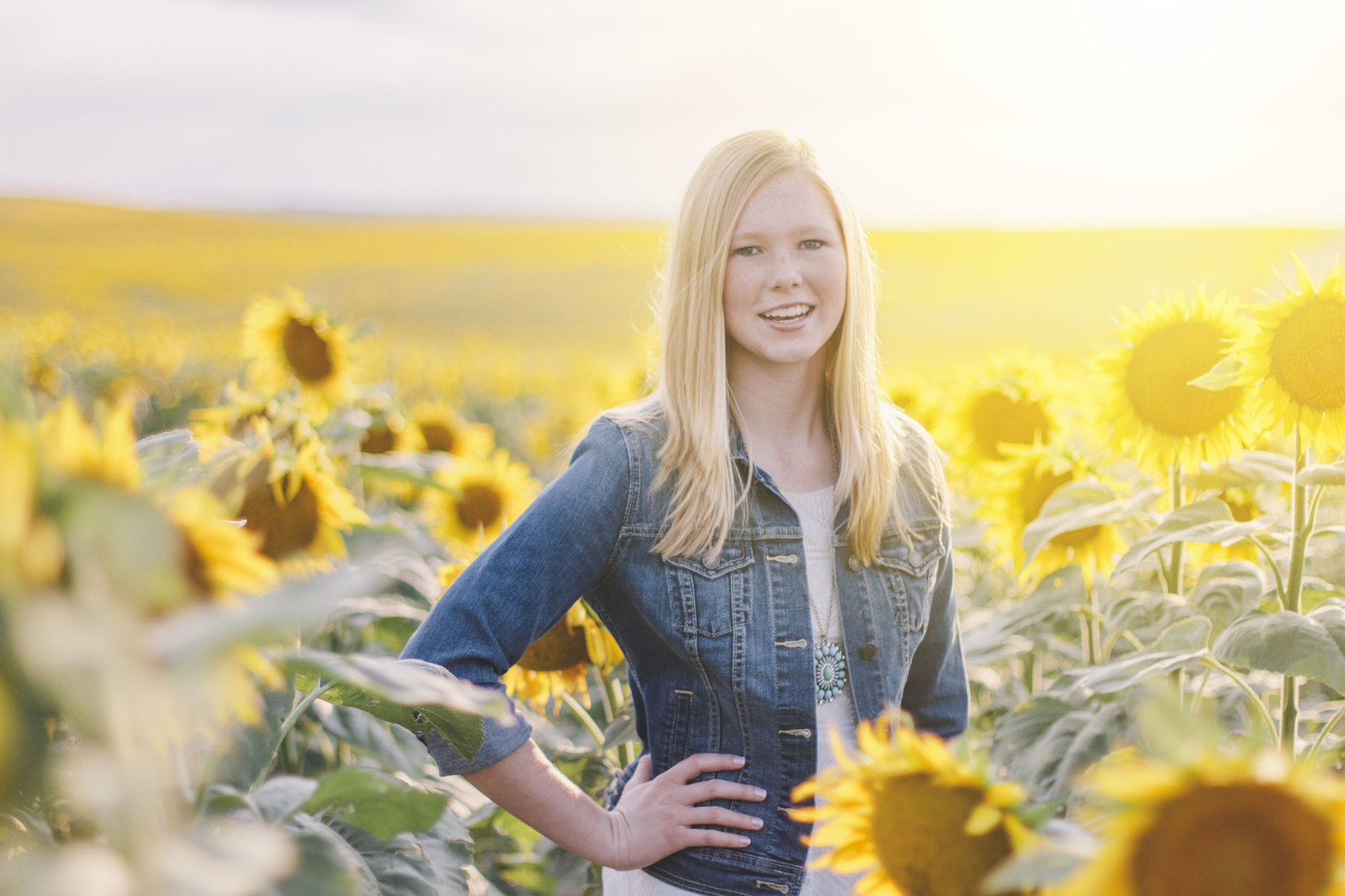 photography | sunflowers | elizabeth street photography | Gackle, ND