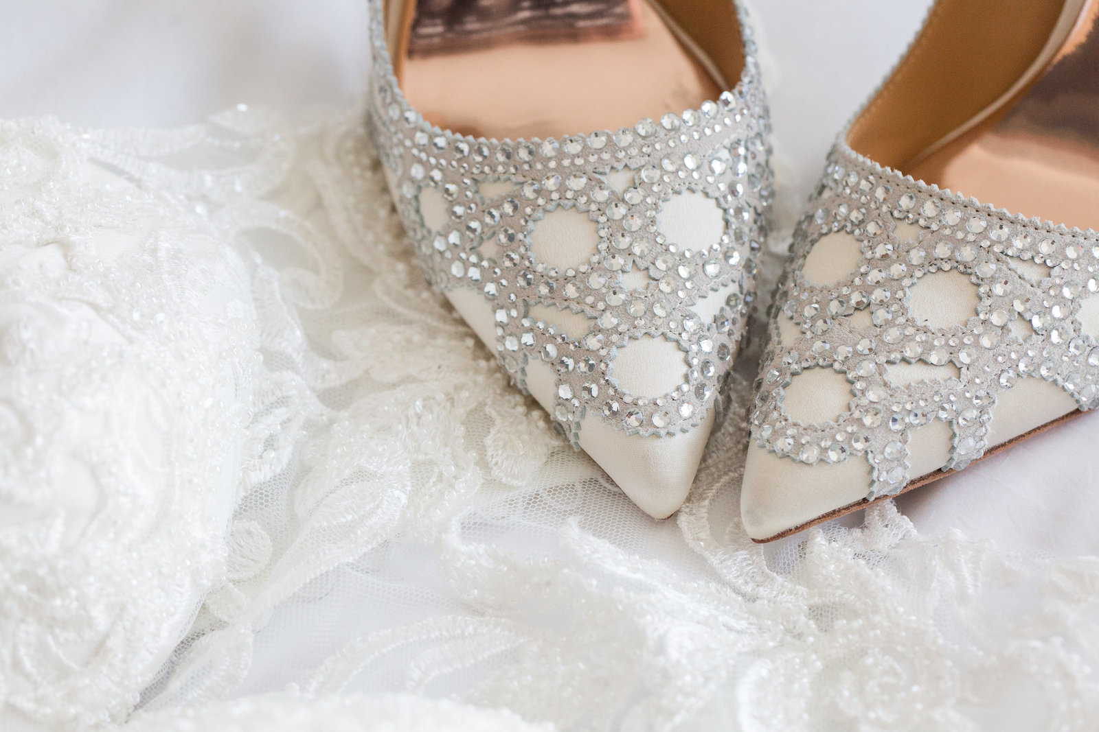 Ottawa Wedding Shoes Beads