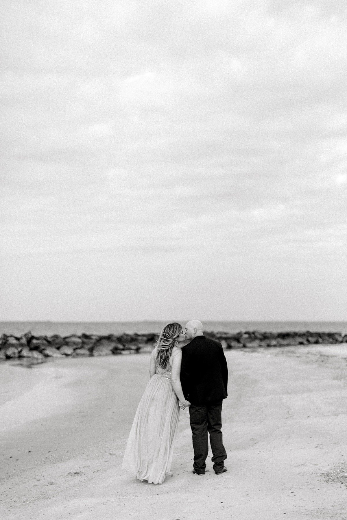 C&J East Beach Norfolk VA Windy Formal Couple Anniversary Photo Session Andrew & Tianna Photography-21