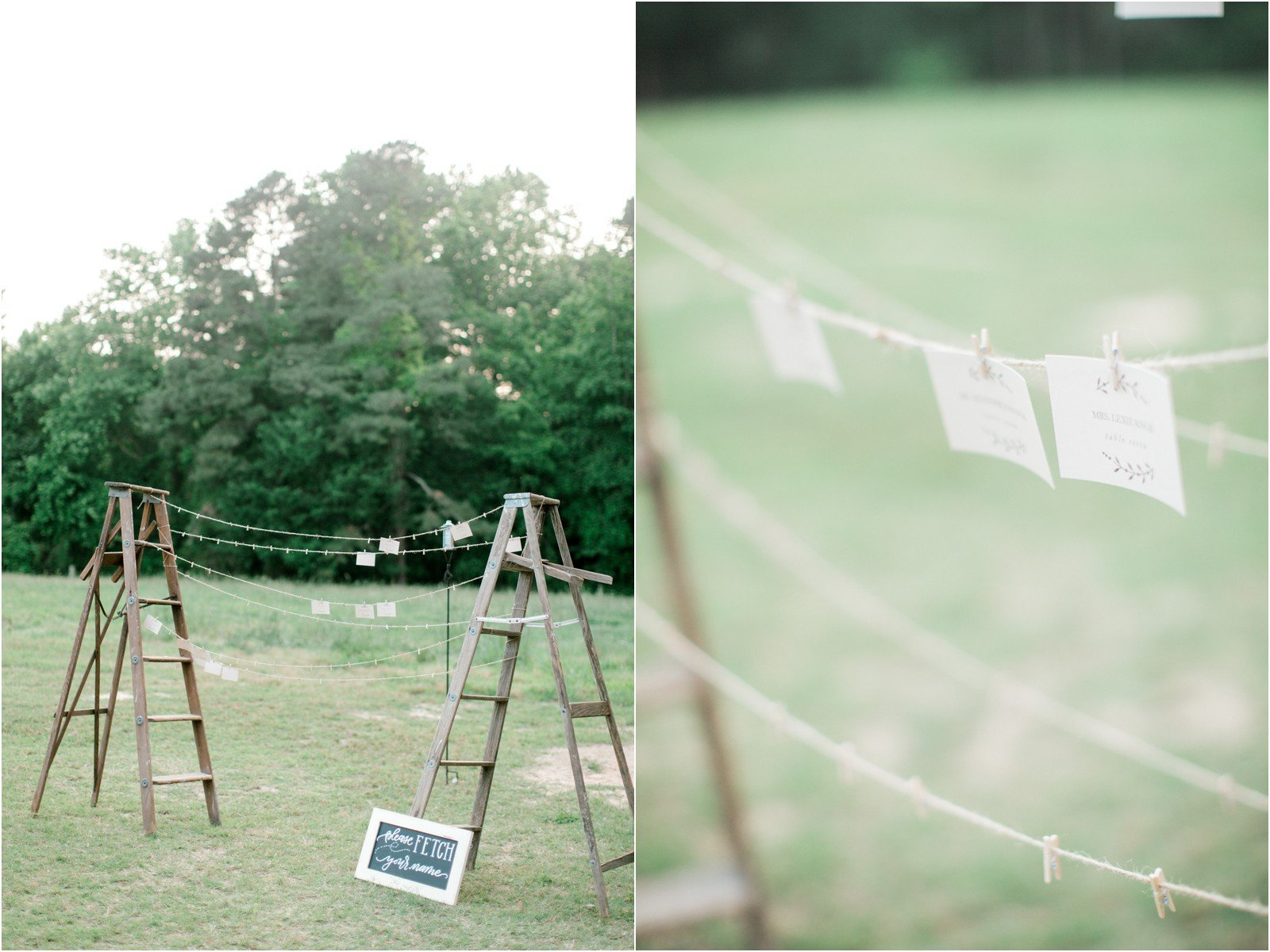 Chapel in the Woods Rustic Country Vintage Wedding Raleigh NC Plume Events Andrew & Tianna Photography-22