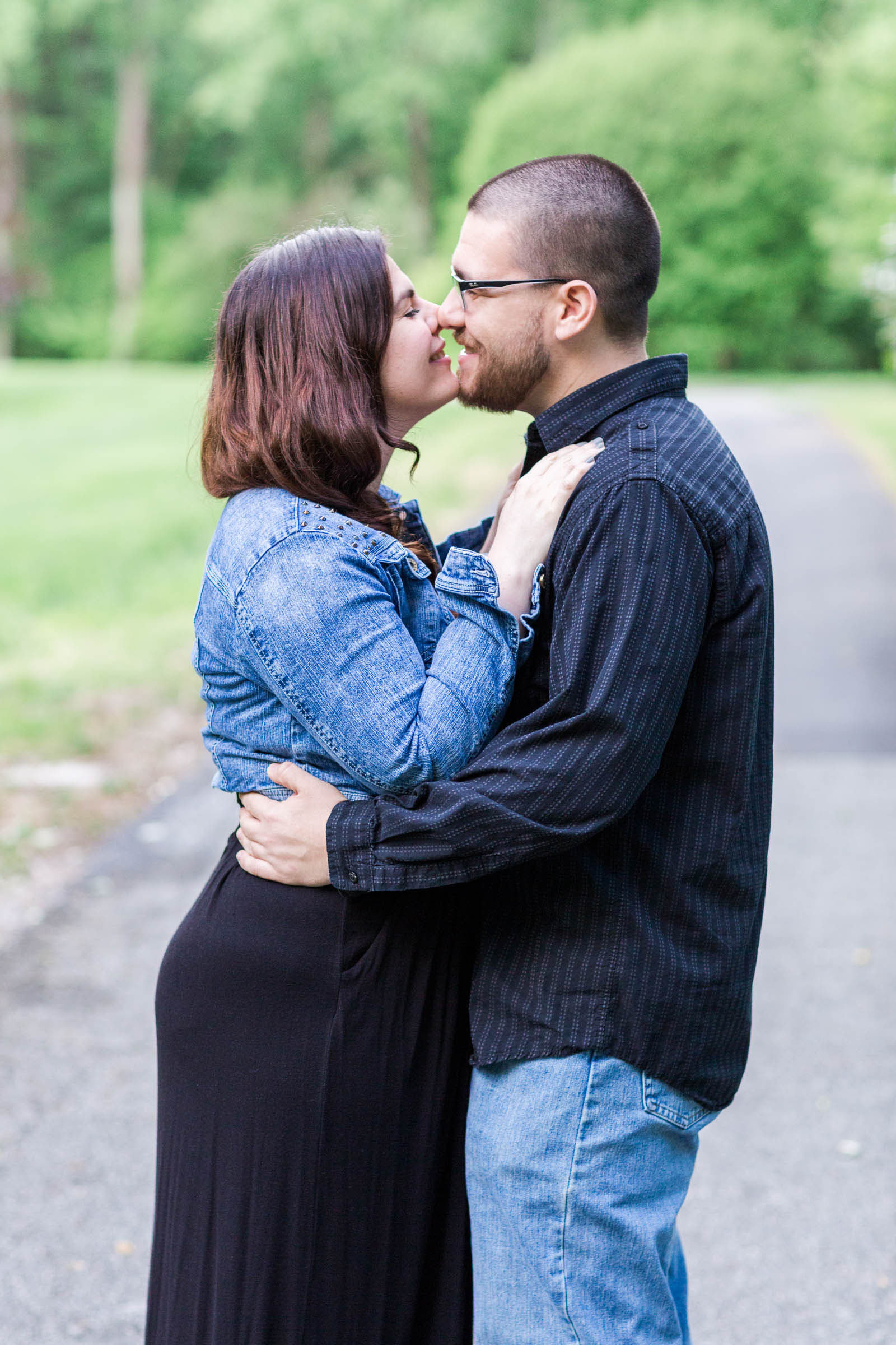 Judy & Phil_Brookside Gardens Engagement Session_Maryland Sweethearts_Wedding Photographer_Rachel Word Photography-25