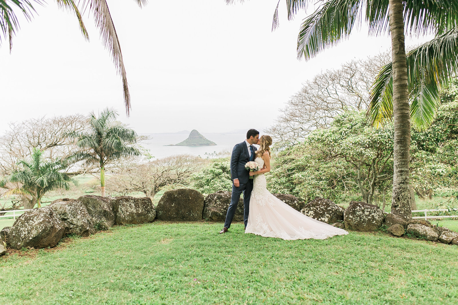 Kualoa Ranch wedding in Hawaii