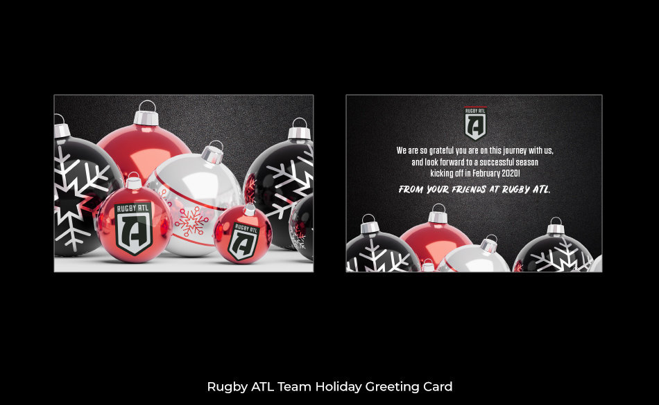 Rugby ATL Holiday Card