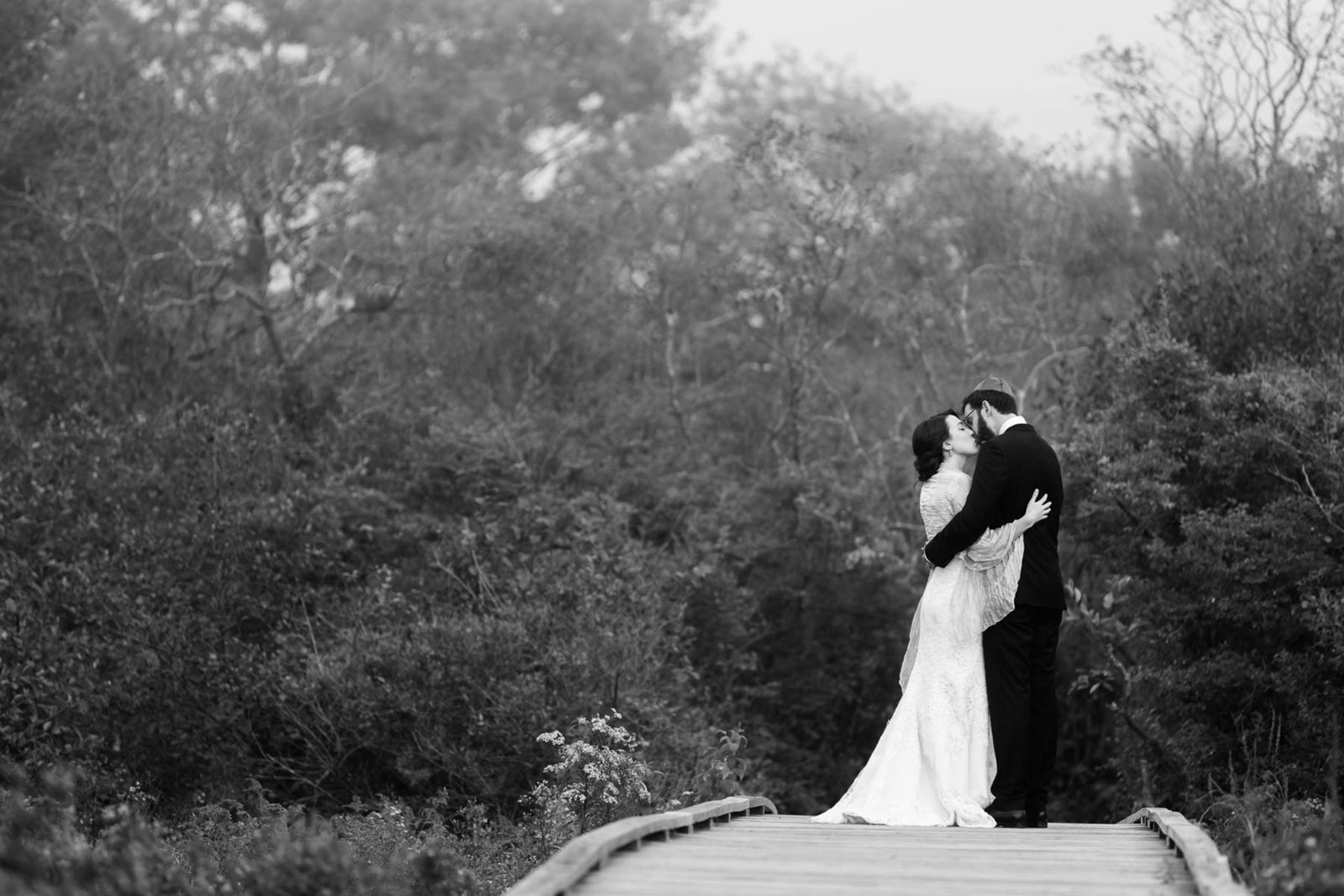 Kettle Cove Cape Elizabeth Maine Wedding Photographers Portland  Fog Image Bride Groom I am Sarah V Photography