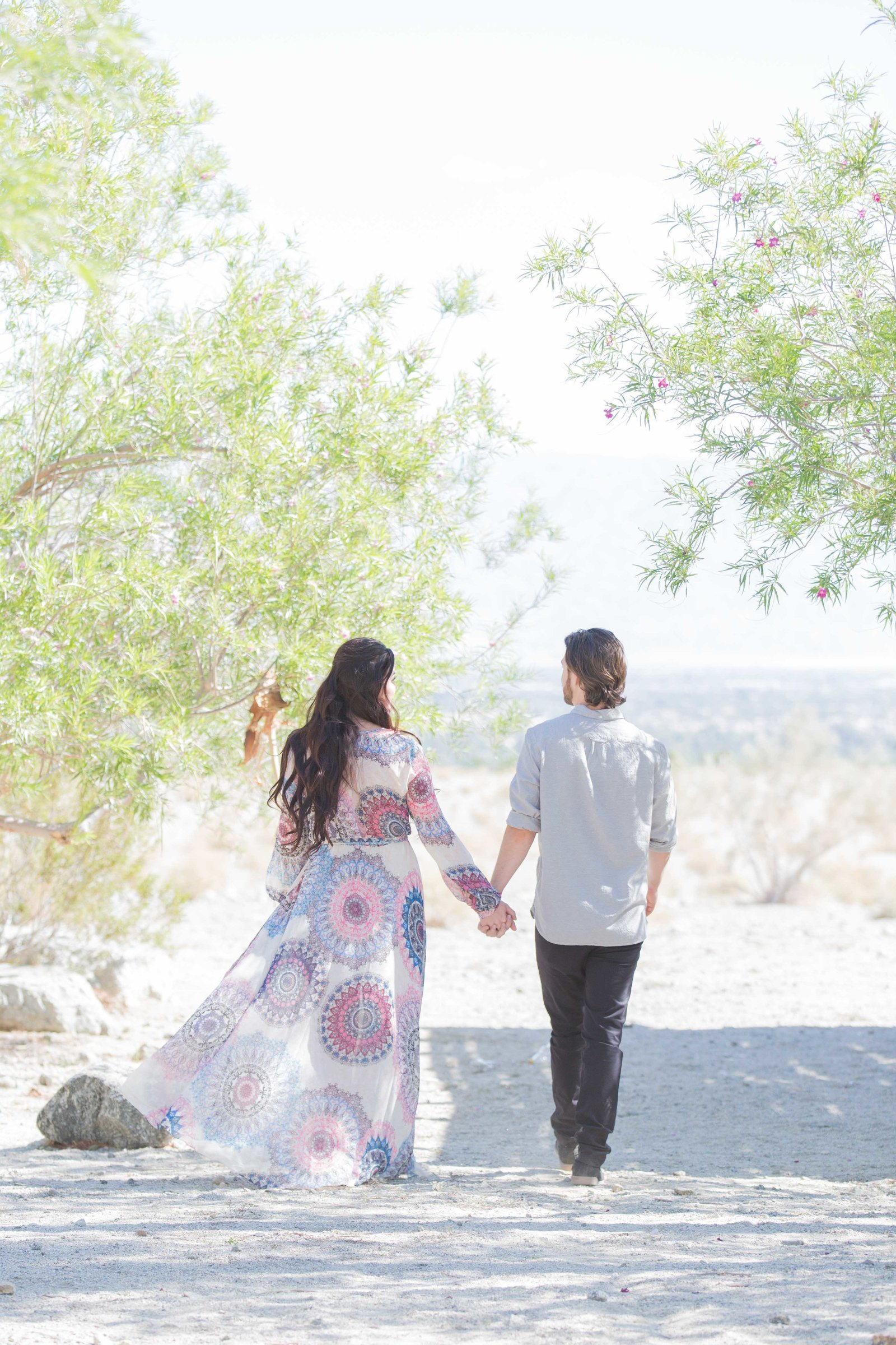 Desert Engagement Session Photographer