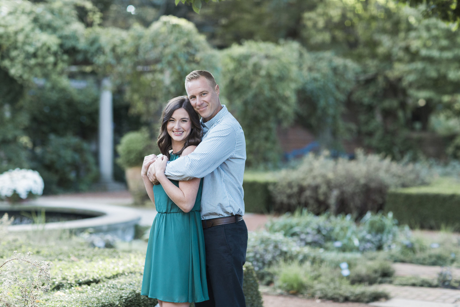 chicago botanic gardens engagement pictures-2