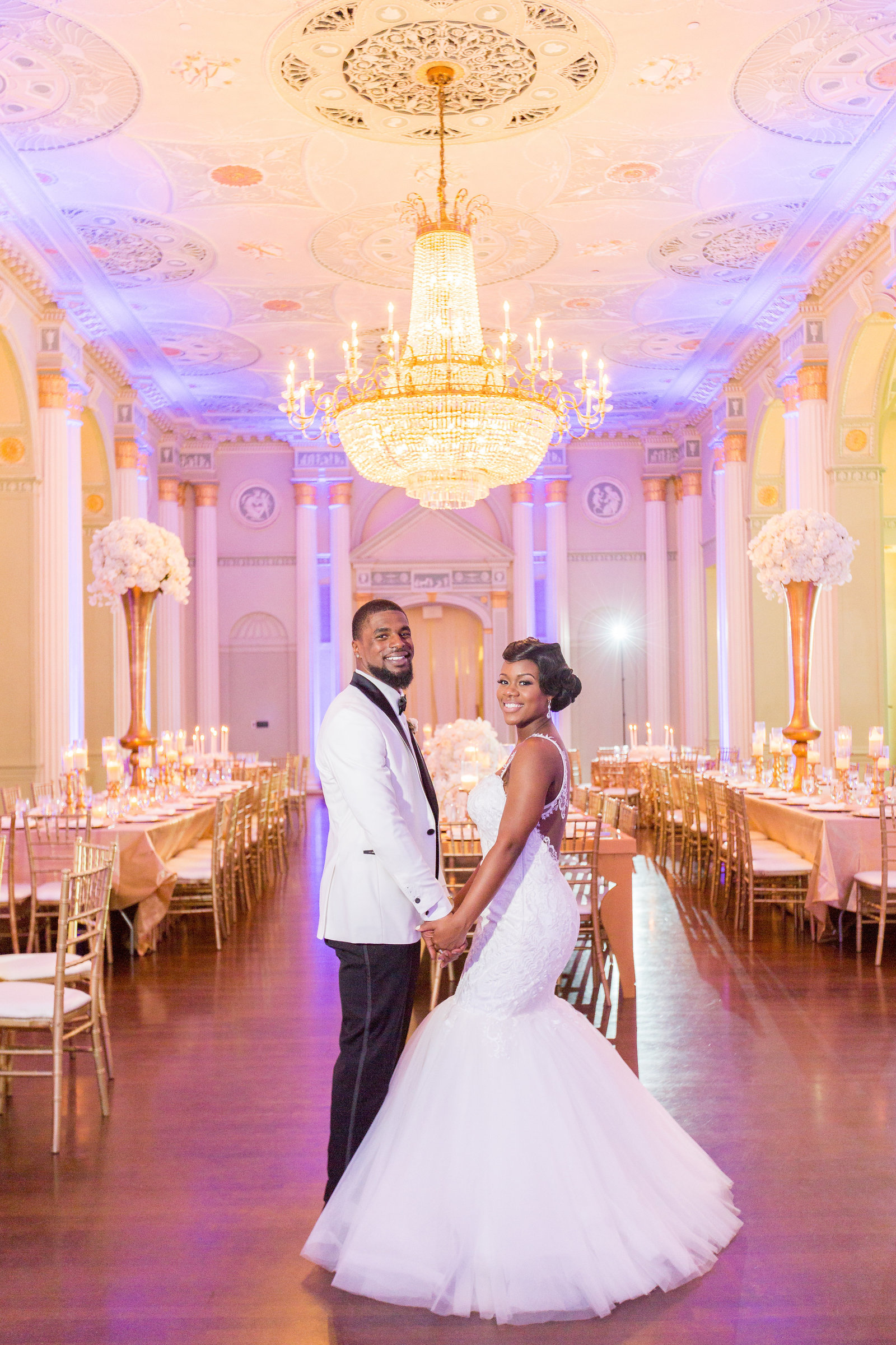 Biltmore Ballrooms Wedding Atlanta - Mecca Gamble Photography