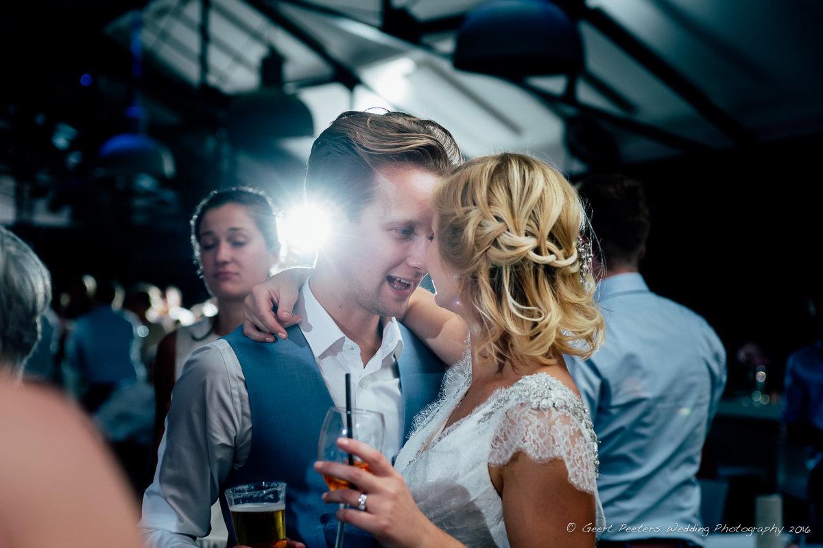 C mine Genk trouw Hanne en Kobe foto