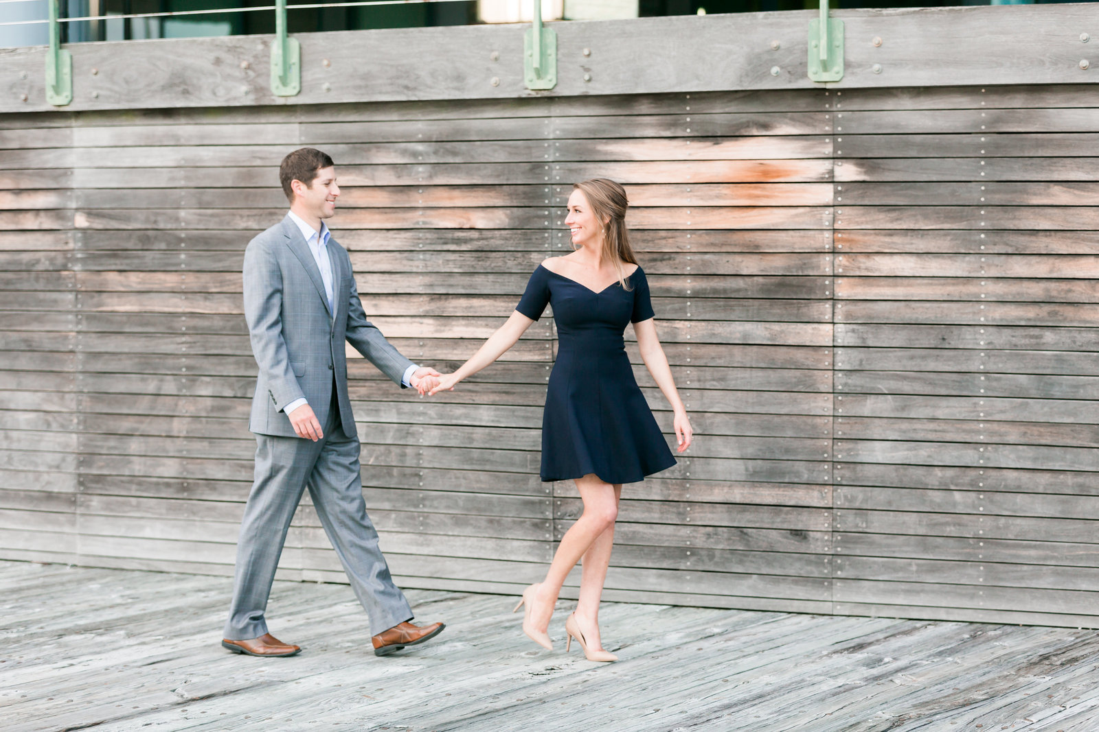 Downtown Norfolk Classic Engagement Session by Elizabeth Friske Photography-12