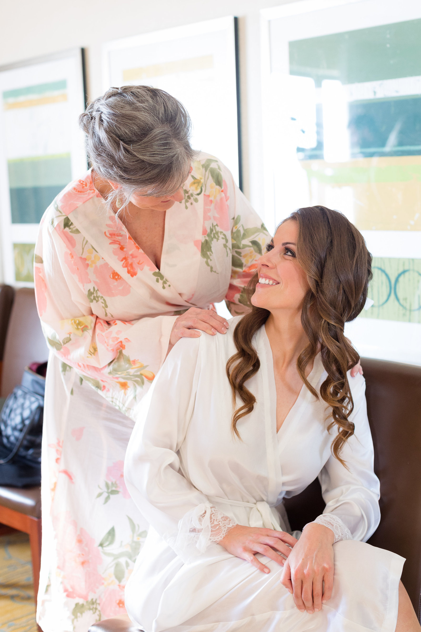 Mom Bride Getting Ready Photo