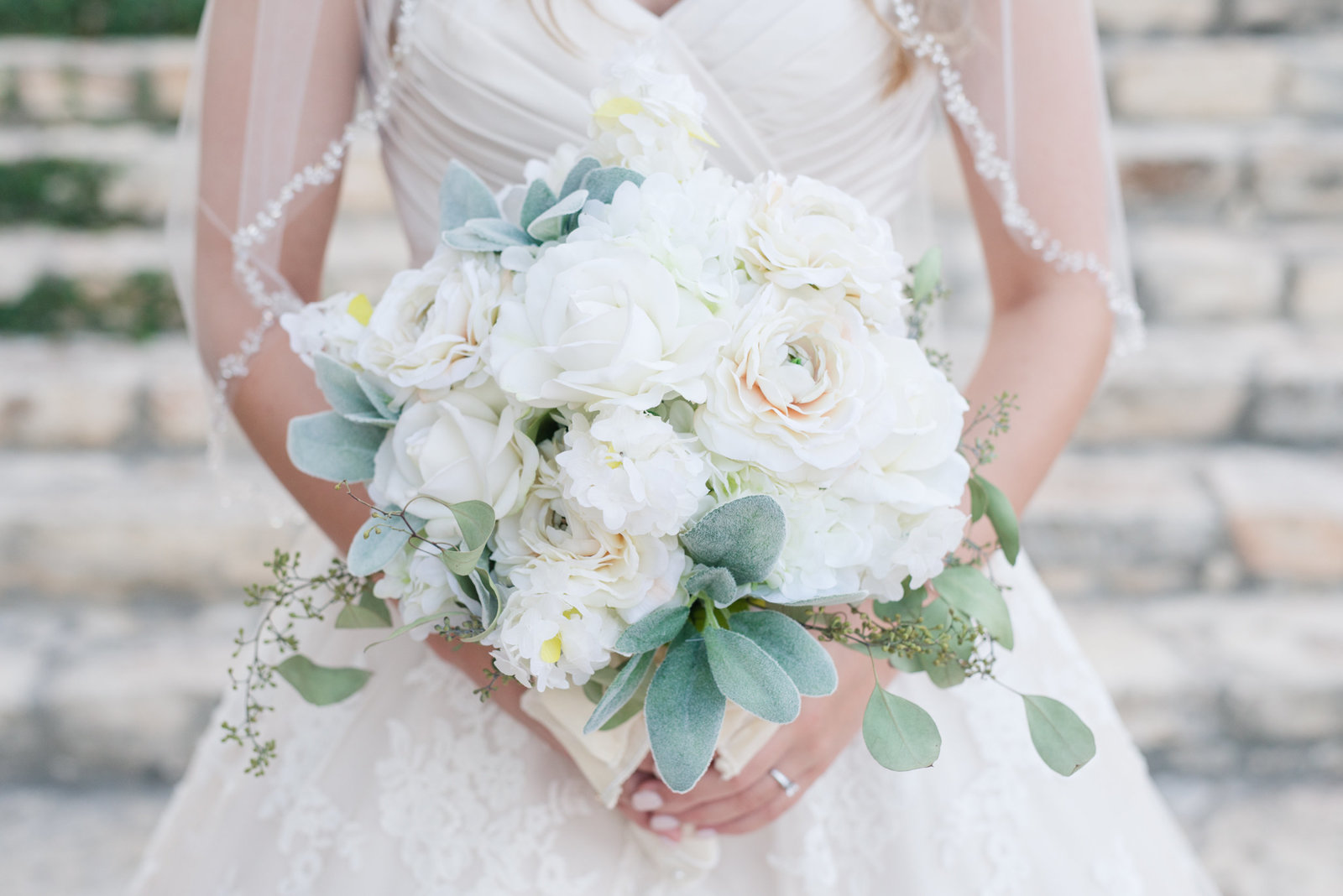 Bridal Bouquet in white