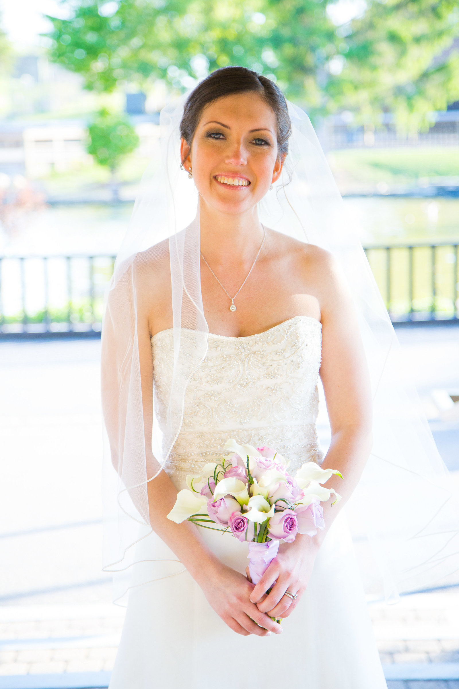 wedding photography  bride portrait
