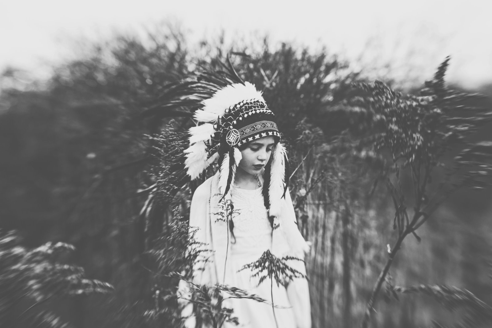 Cherokee style child portrait by Norwich Photographer Jessica Elisze