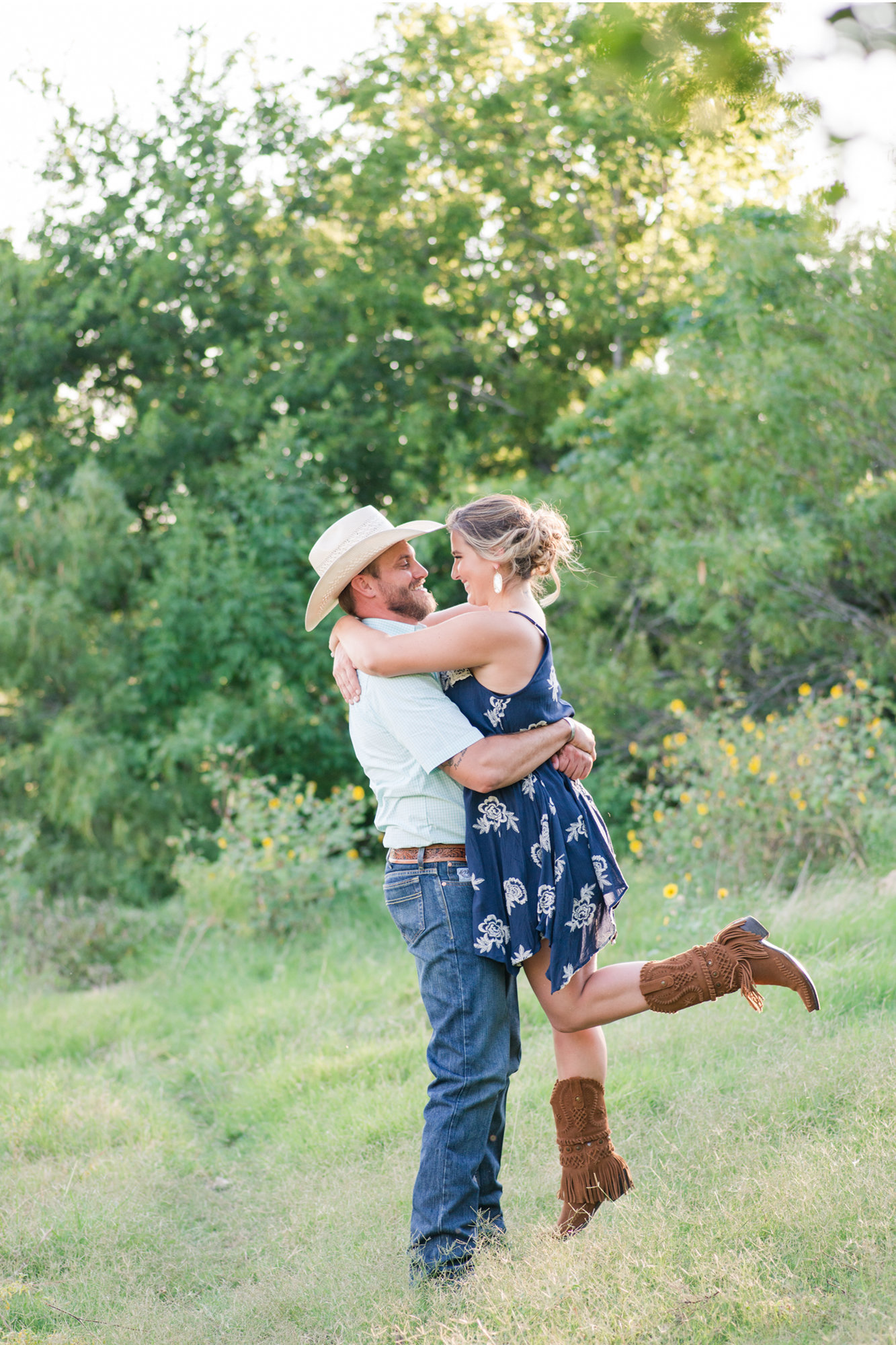 Georgetown TX engagement photos