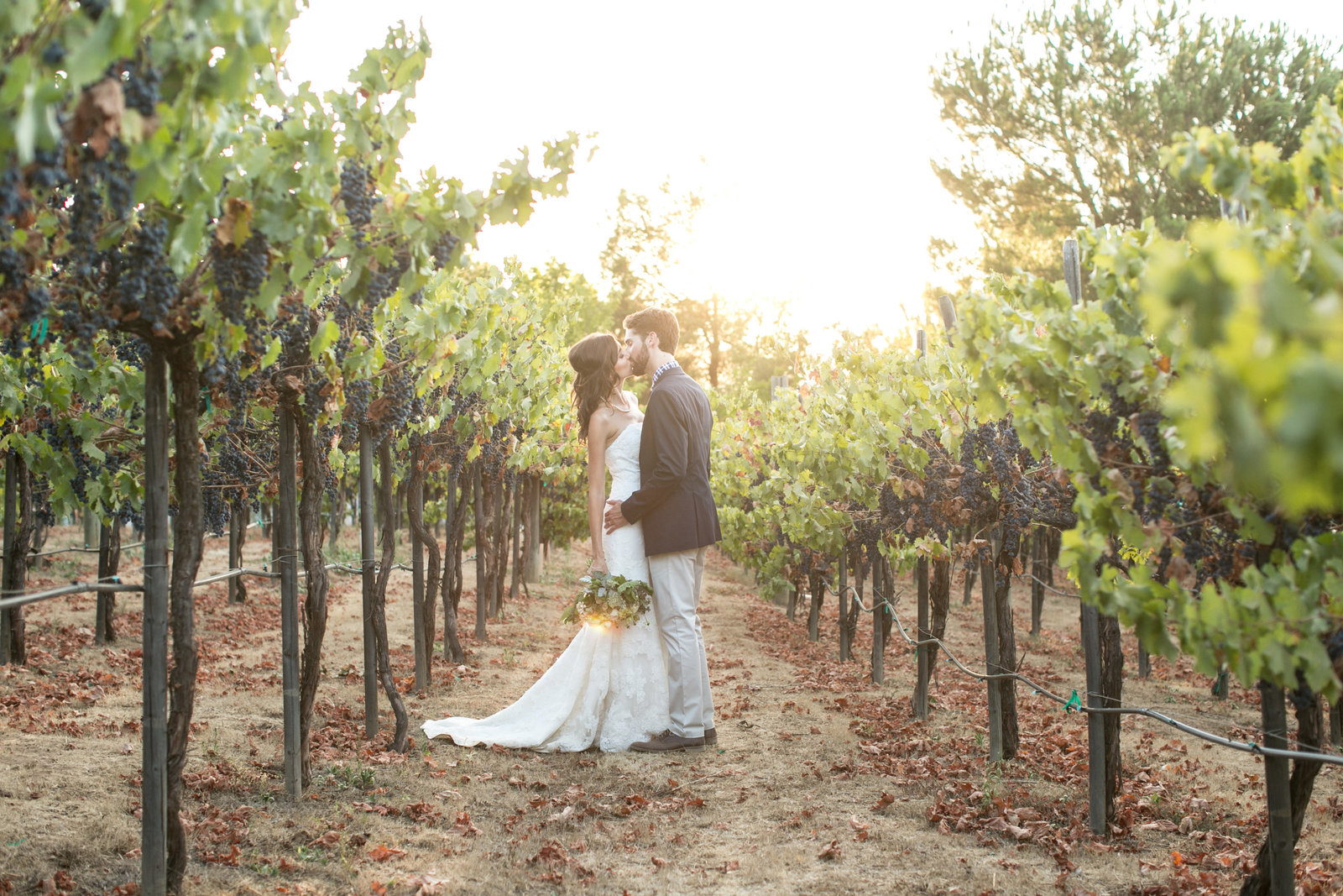 David Manning photographer wedding with Chase and Lauren at the Salerno Winery