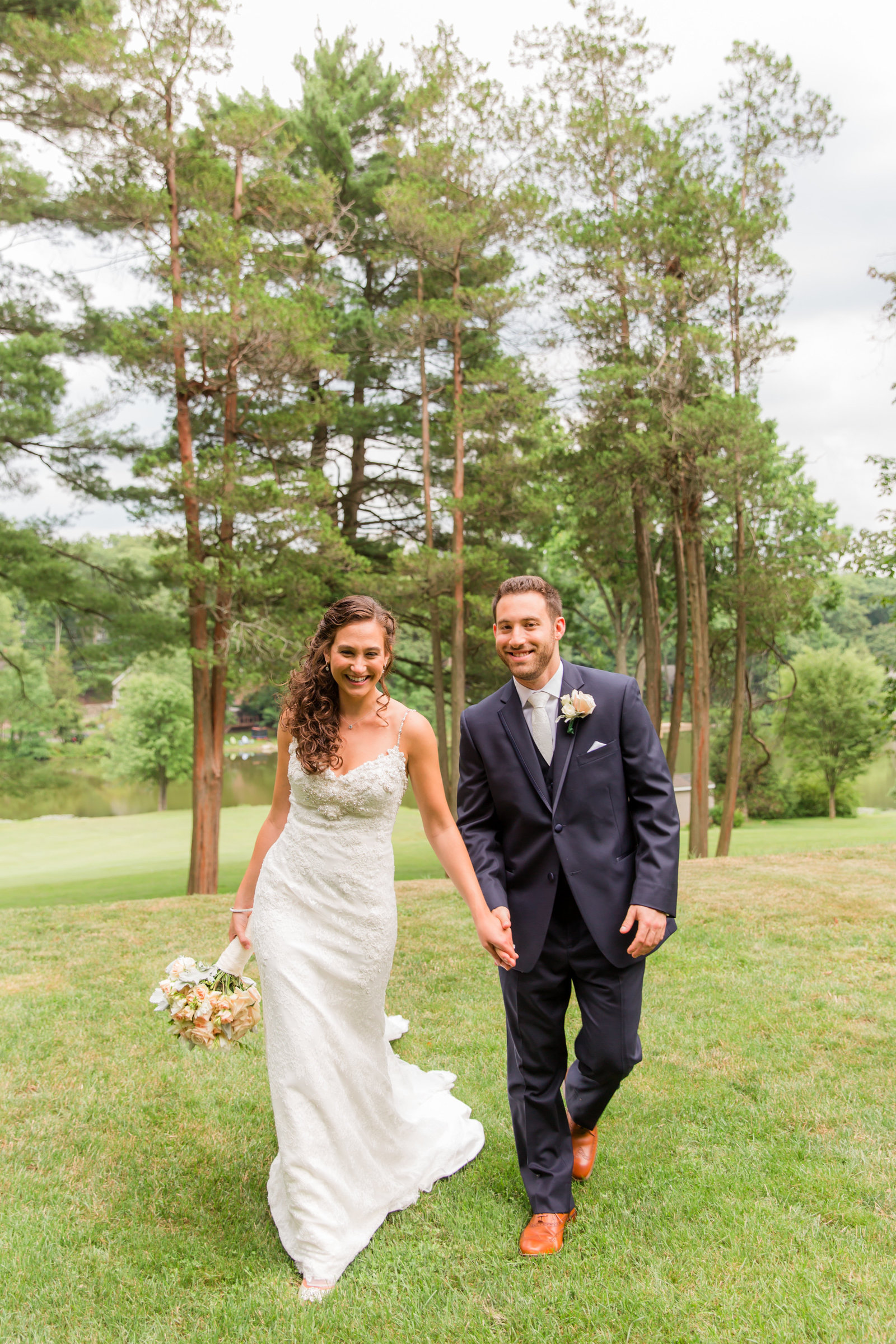 Summer Ramsey Golf Club Wedding