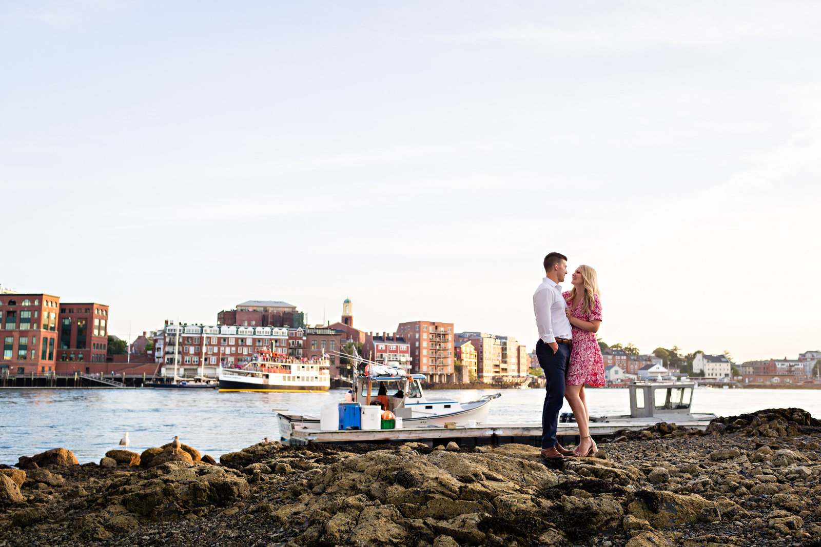 Portsmouth-New-Hampshire-Wedding-Photographers-Engagement-Beach-Boats-Brick-Outdoor-Urban-I-AM-SARAH-V-Photography-Photo