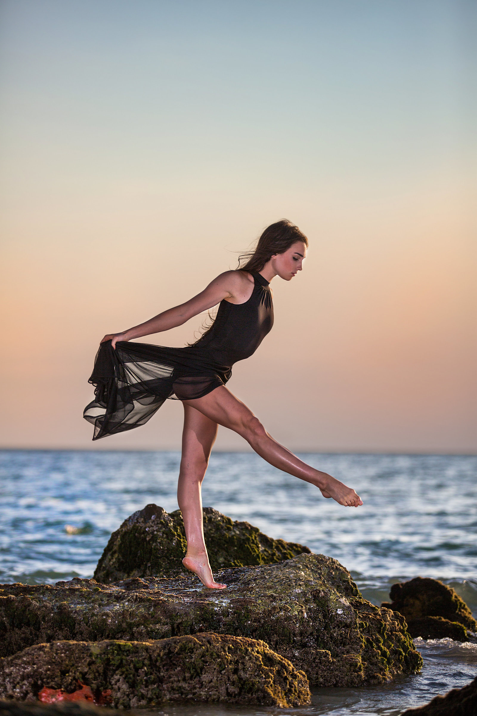 collette mruk tampa dance photography beach side