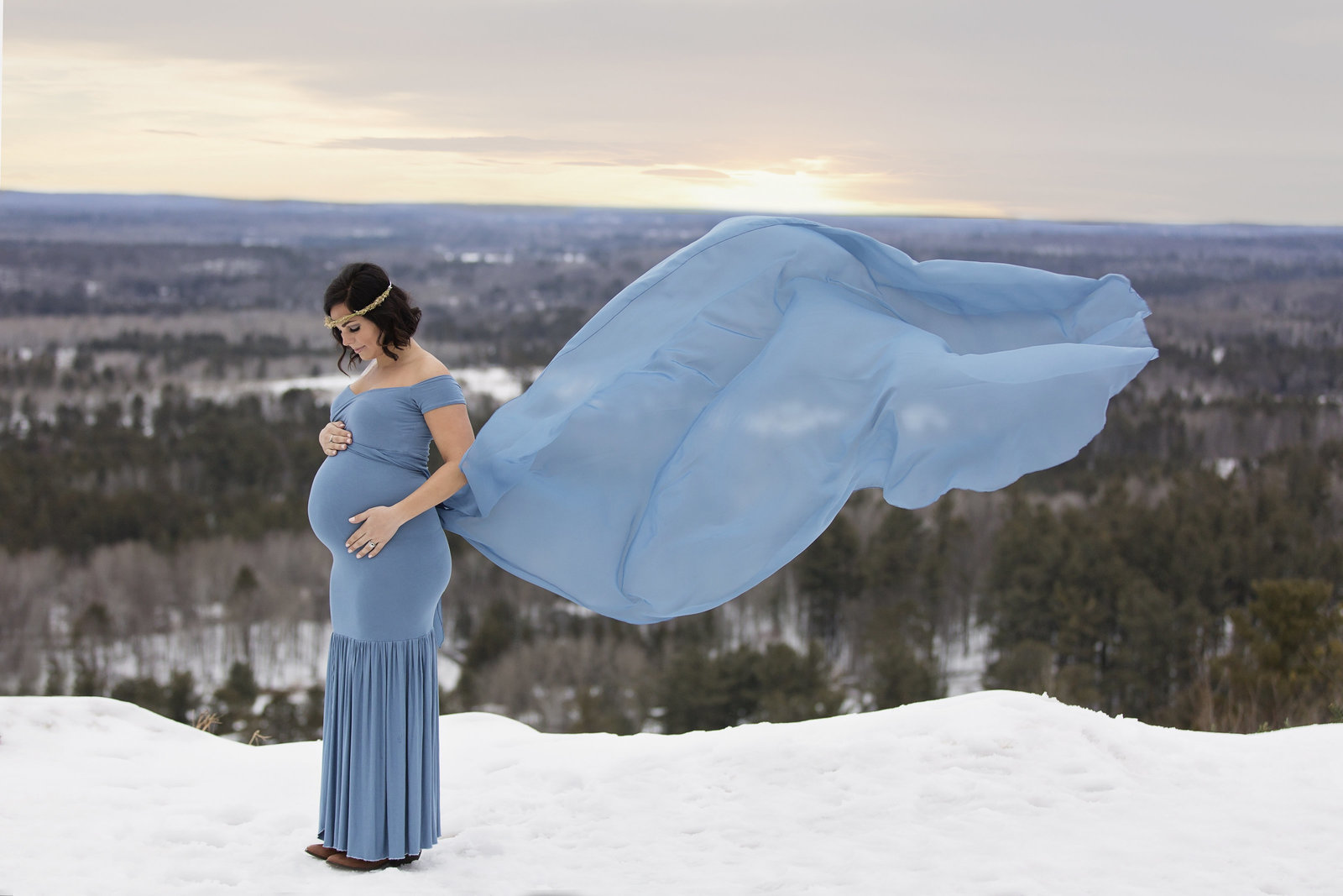 Mic higan Maternity Photographer | Pine Mountain Resort