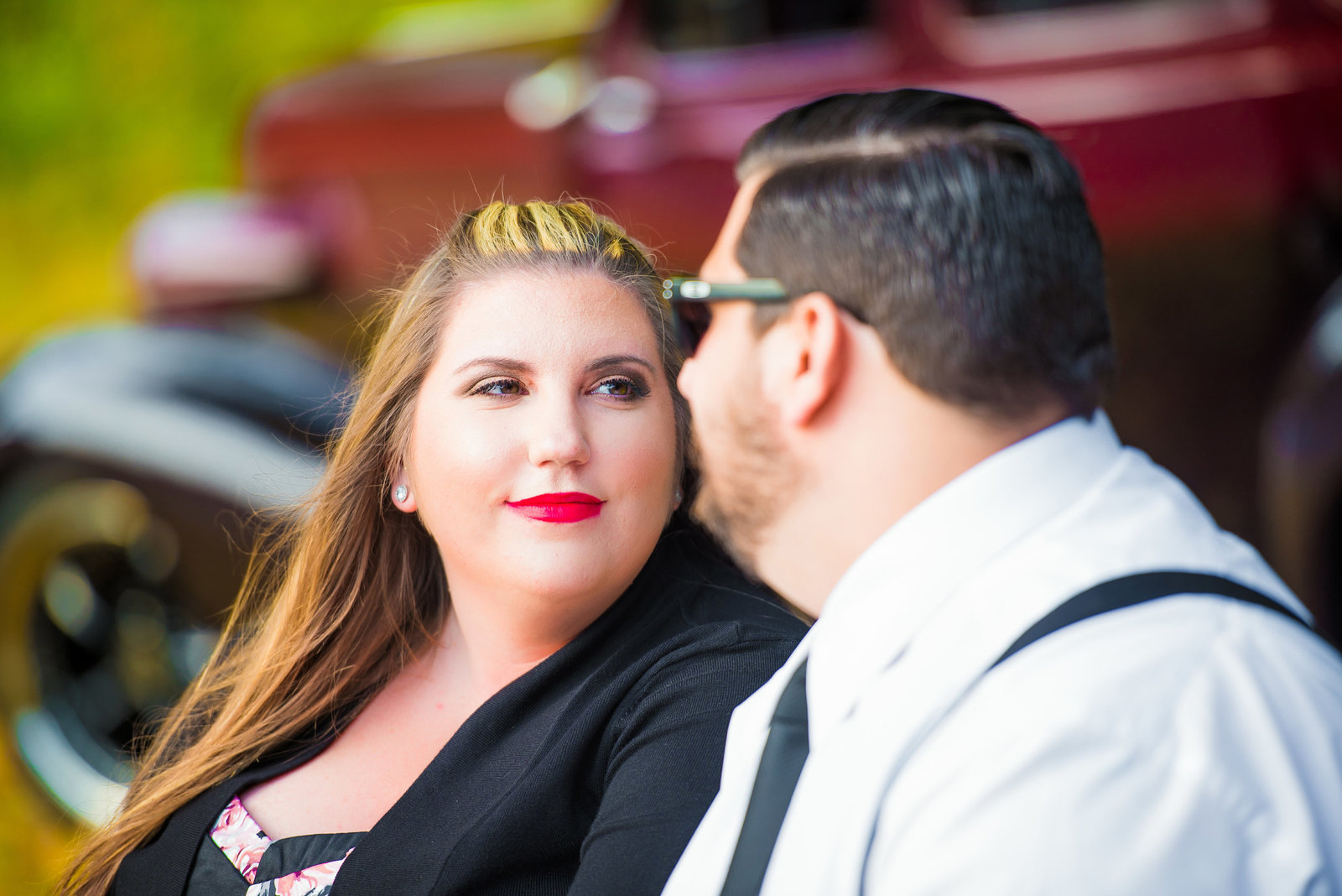 Retro_Pinup_Car_engagement_session_Nj059