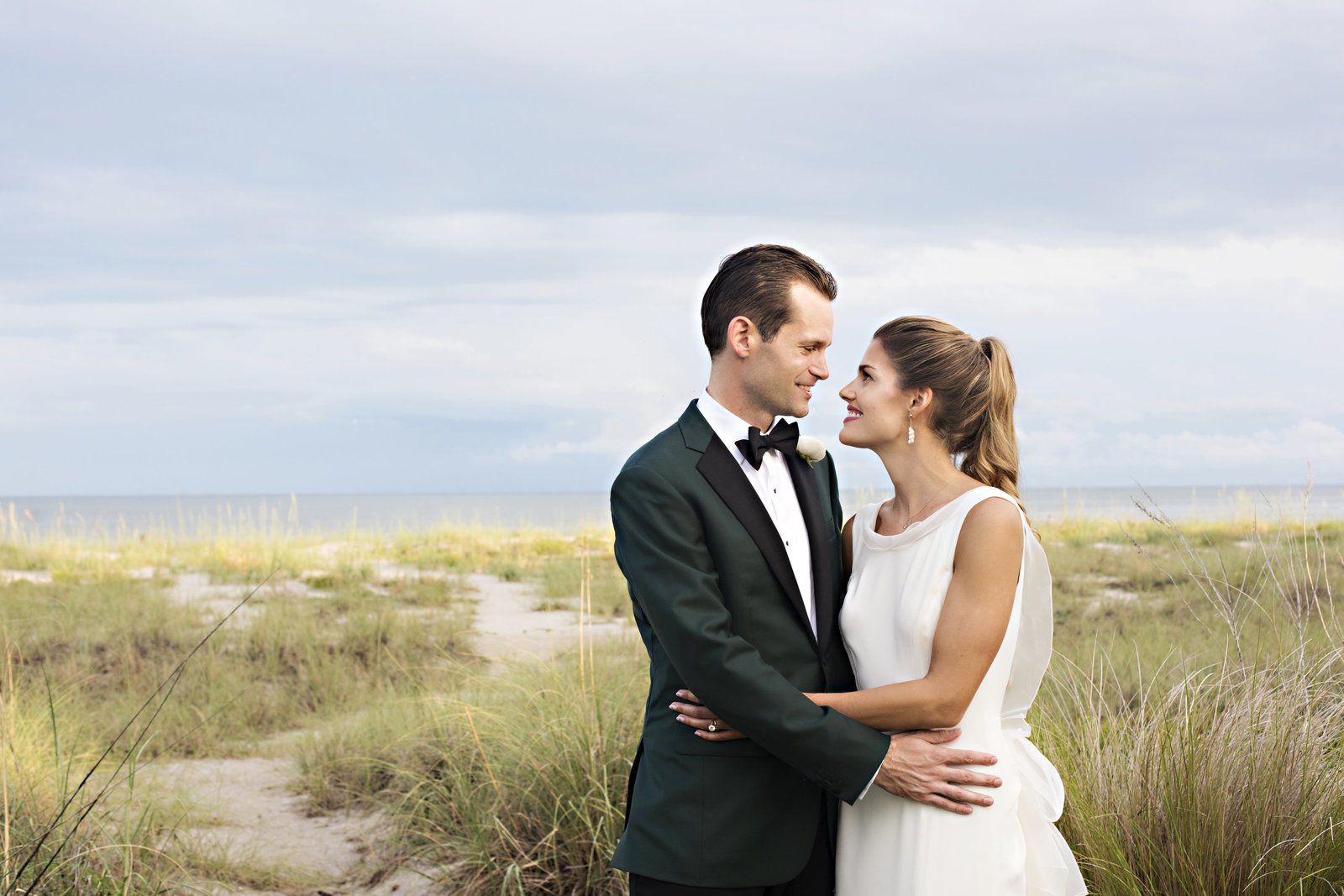 sea island real wedding at oceanroom