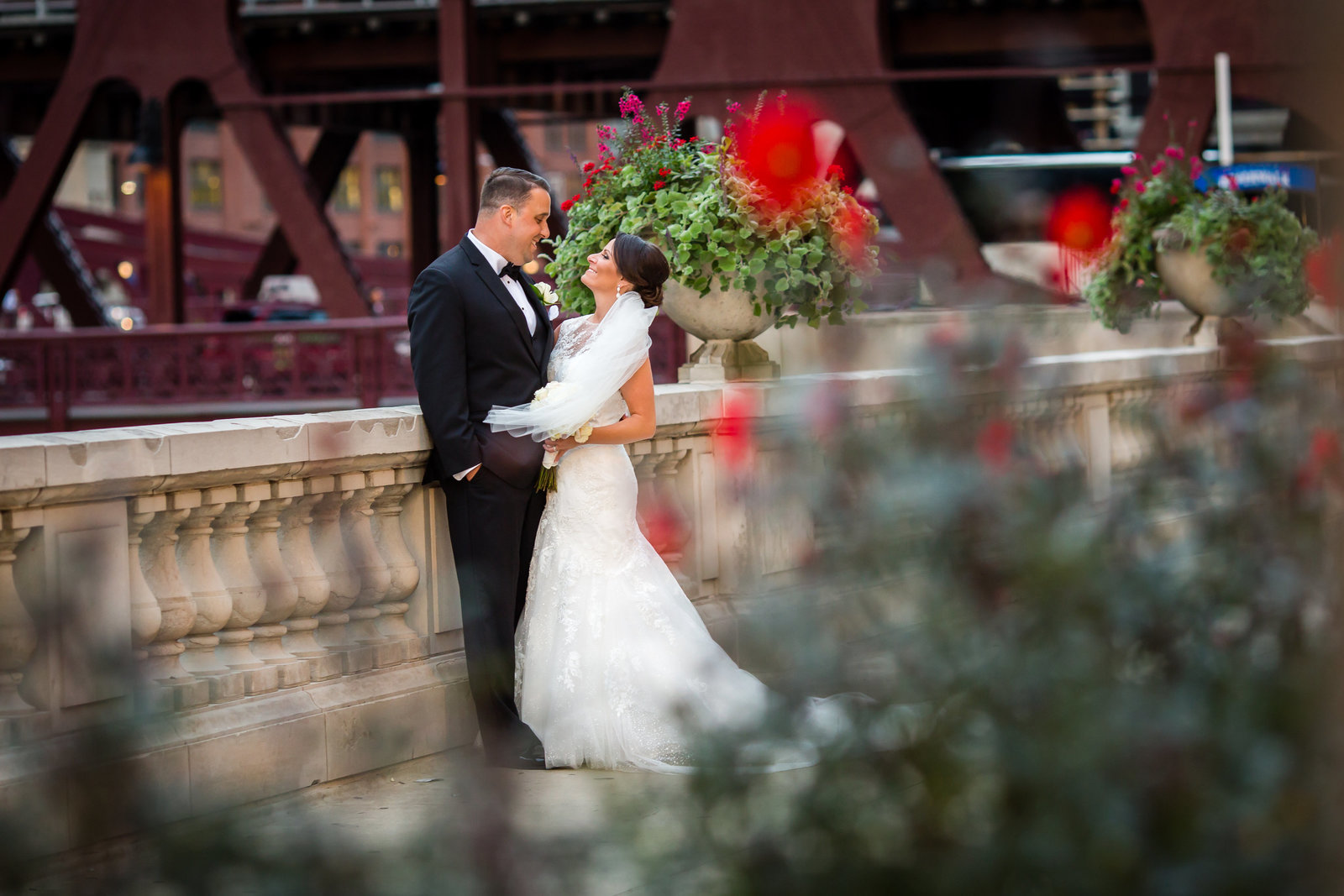 Chiacgo River Walk Wedding