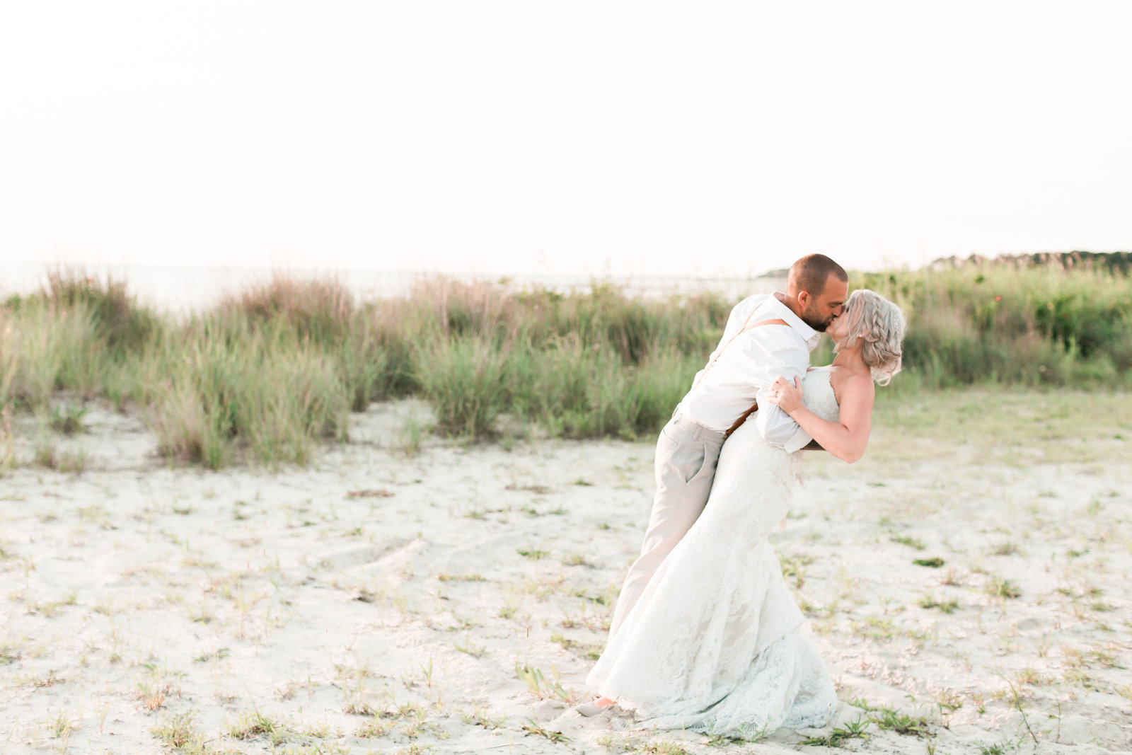 Oyster Farm Brunch Wedding by Elizabeth Friske Photography-49