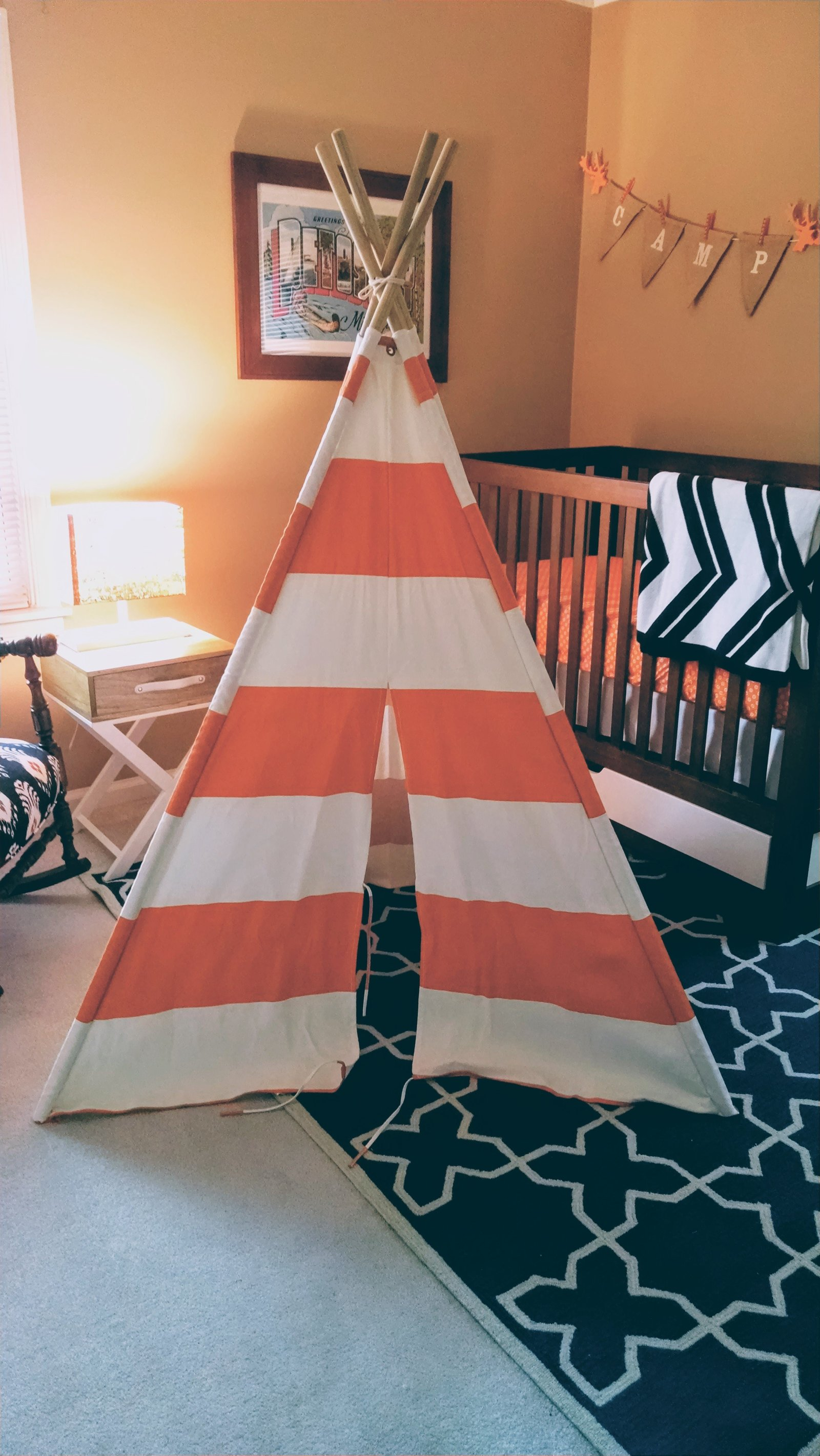 little boys bedroom teepee