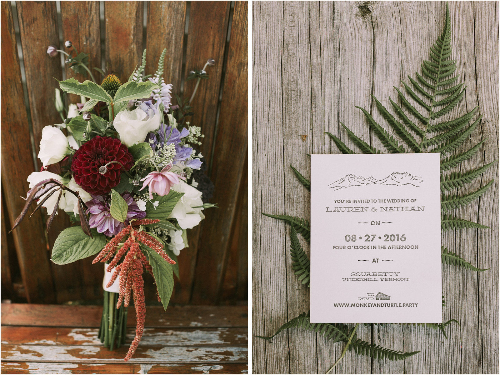 Vermont Camp Wedding by Ashley Largesse Photography