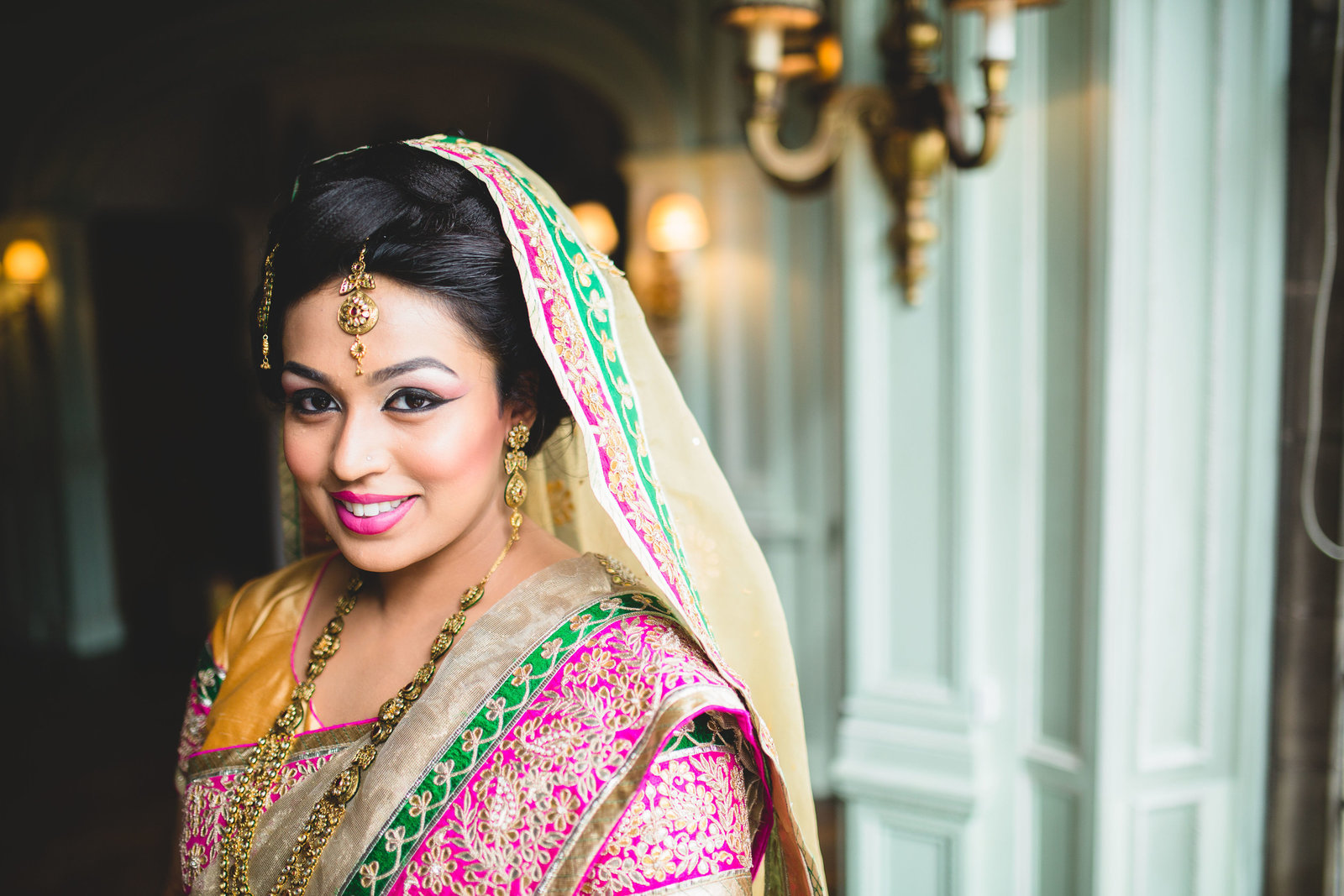 asian wedding at thornton manor