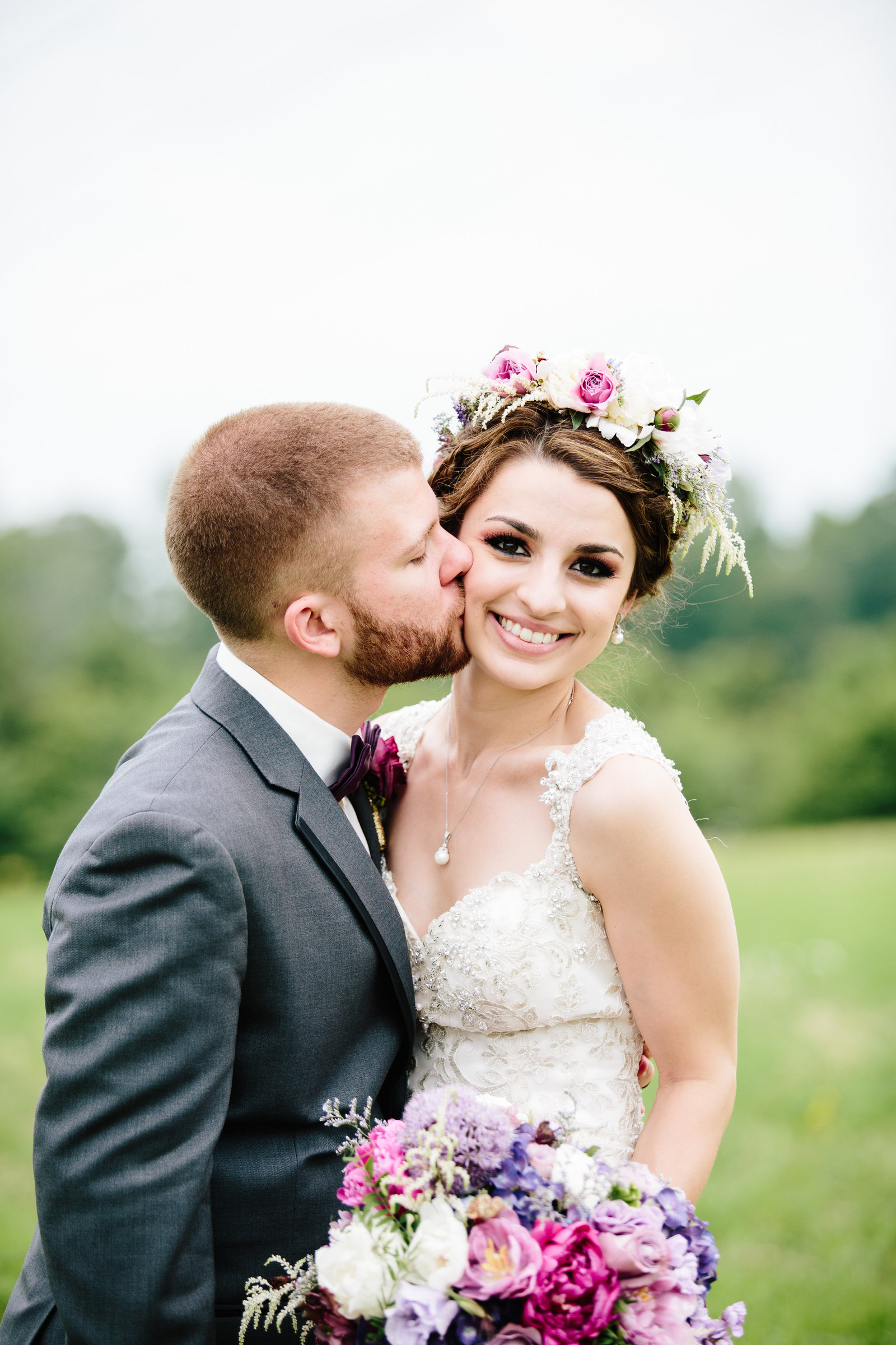 Eastern Ohio wedding at The Barn on Enchanted Acres by Austin and Rachel Photography