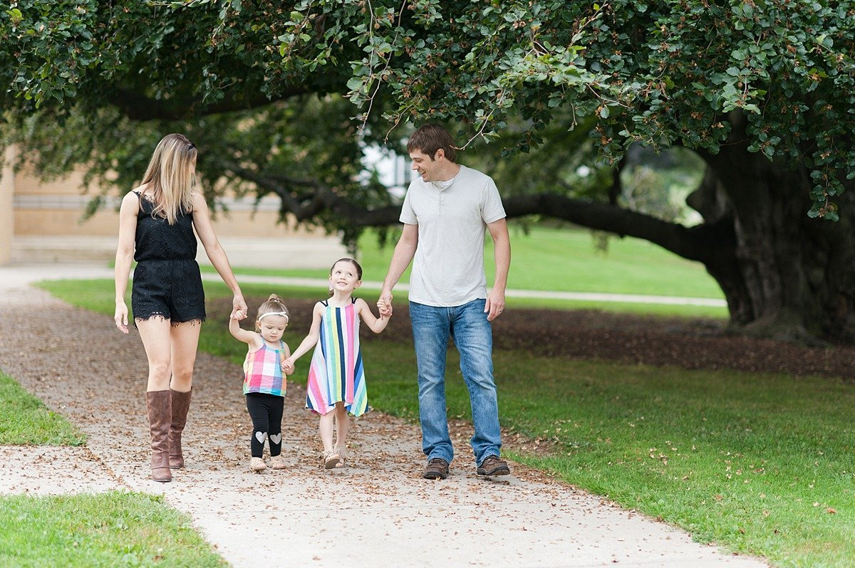 Laura Luft Family Photographer Lifestyle summer session trees session tall natural light  green grass creek cabbage Photography Elba NY  Western NY fall family lifestyle-50