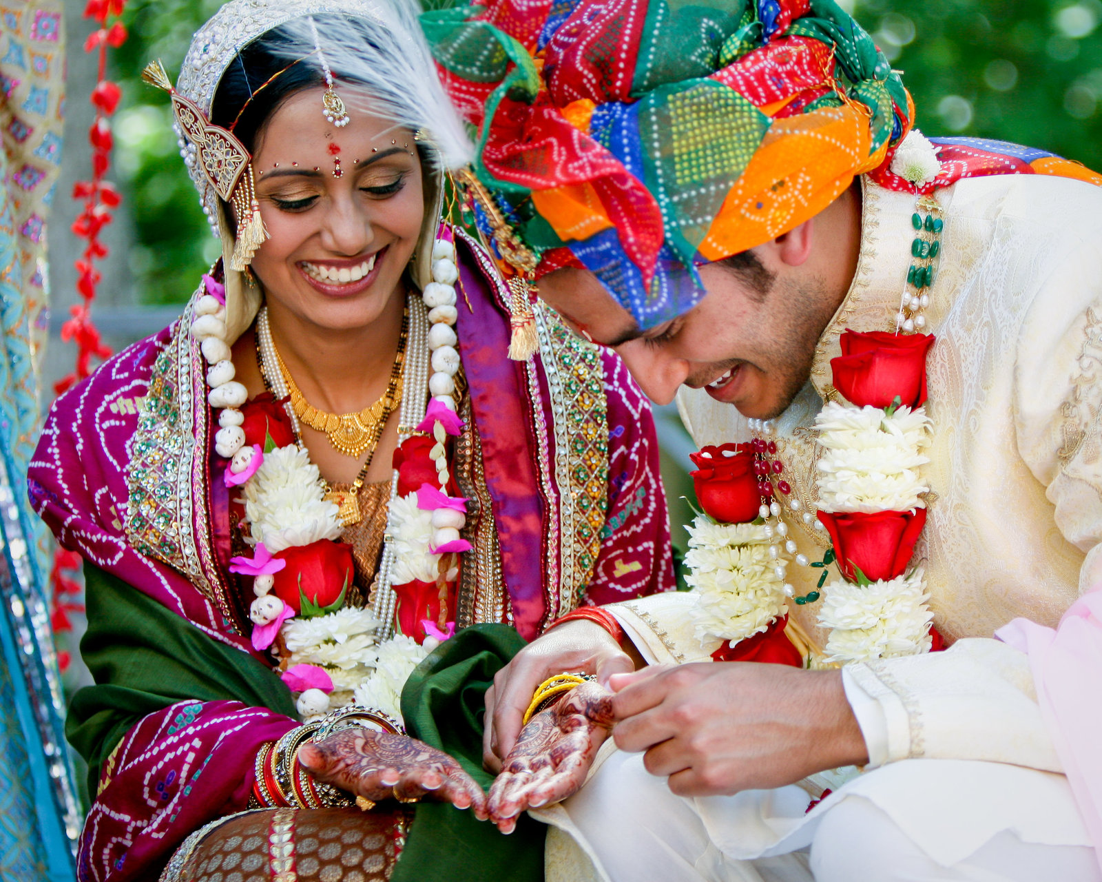 Indian Wedding color