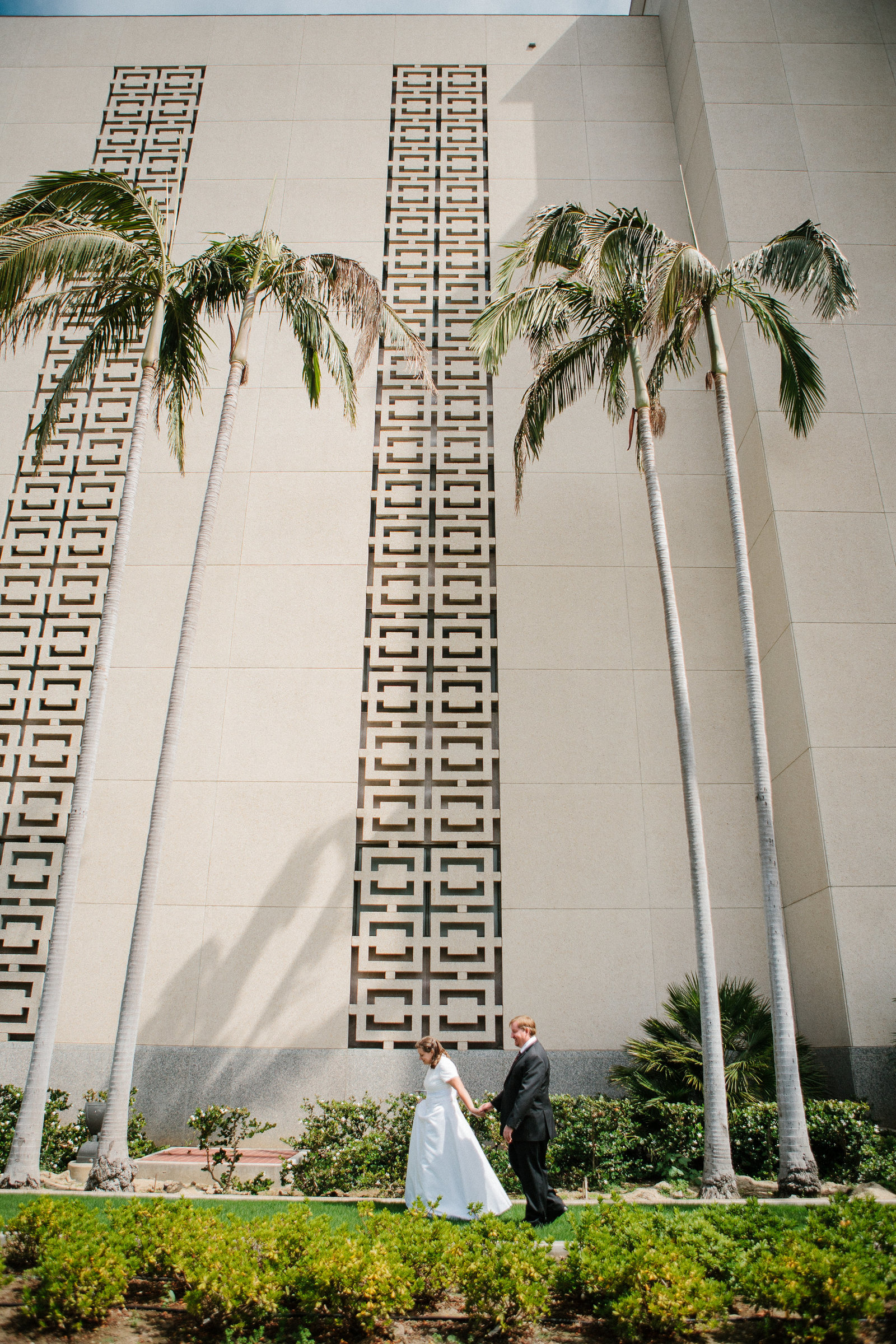 LA LDS Mormon Wedding