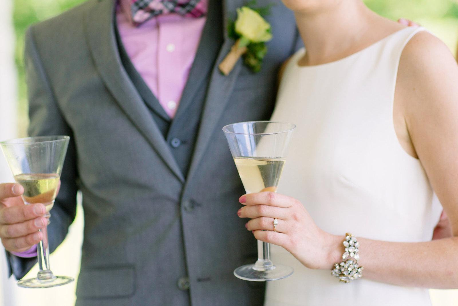 Detail Drinks at wedding