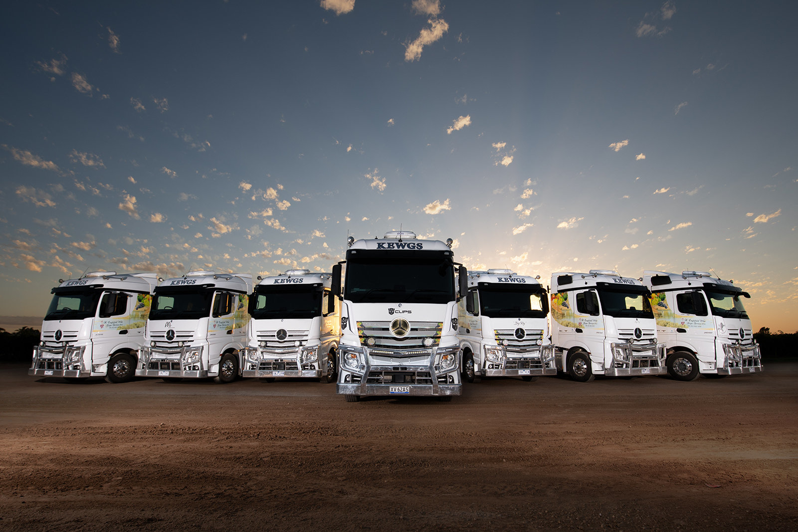 Mercedes Trucks Mildura, Vision House Photography