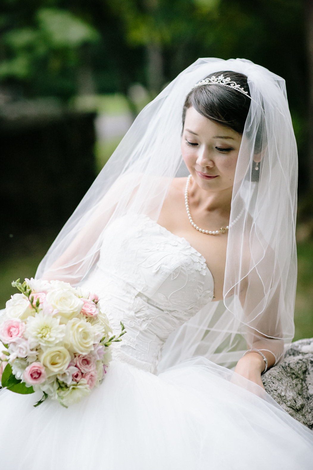 Strong Mansion Bridal Portrait
